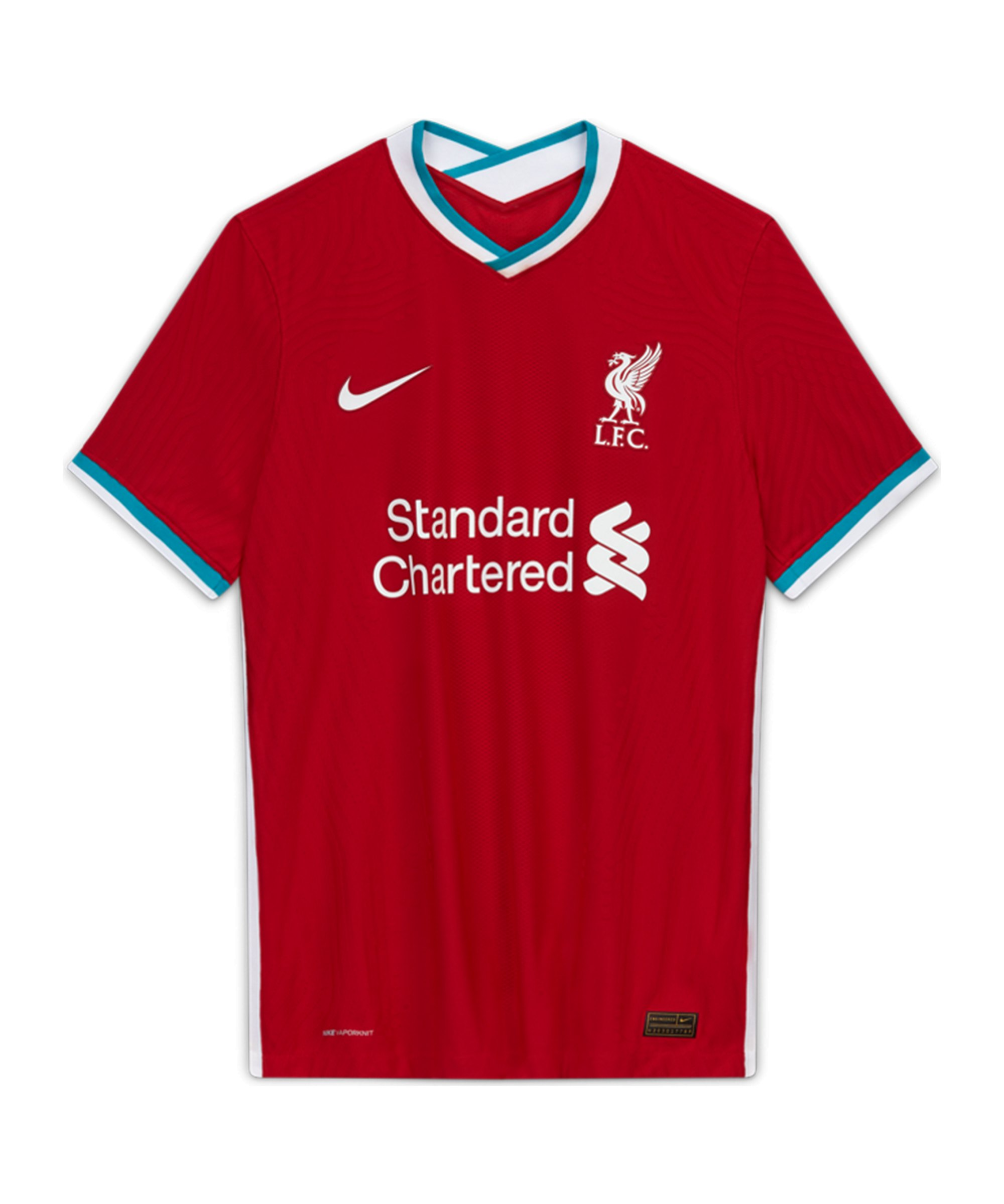 Nike FC Liverpool Authentic Trikot Home 2020/2021 Rot F687 - rot