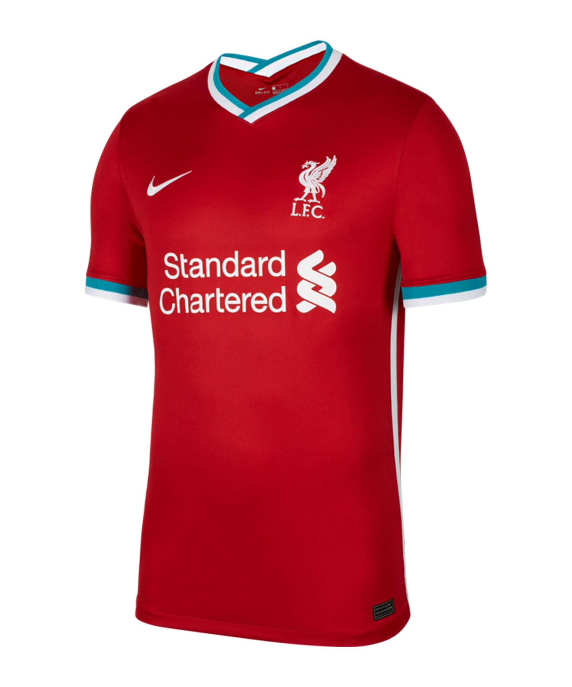 Nike FC Liverpool Trikot Home 2020/2021 Rot F687 - rot