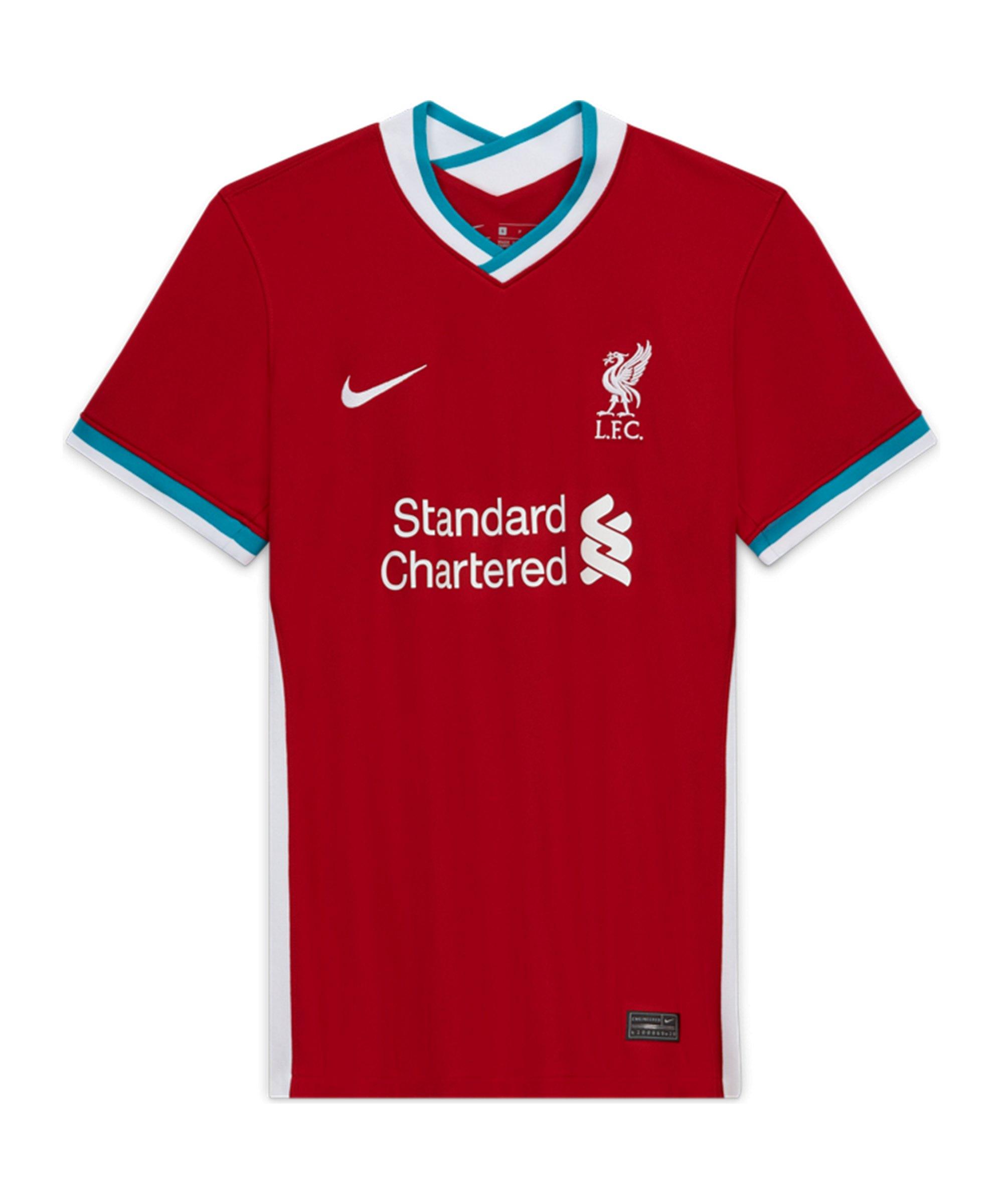 Nike FC Liverpool Trikot Home 2020/2021 Damen Rot F687 - rot