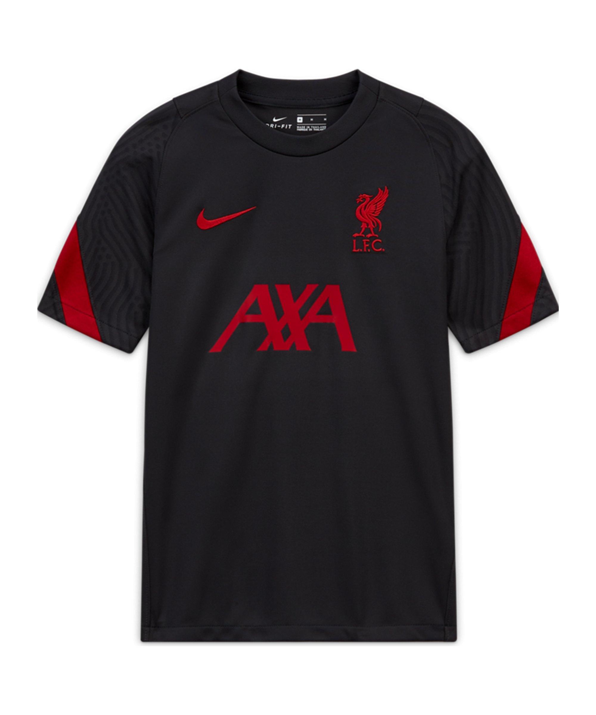 Nike FC Liverpool Strike T-Shirt Kids Grau F060 - grau