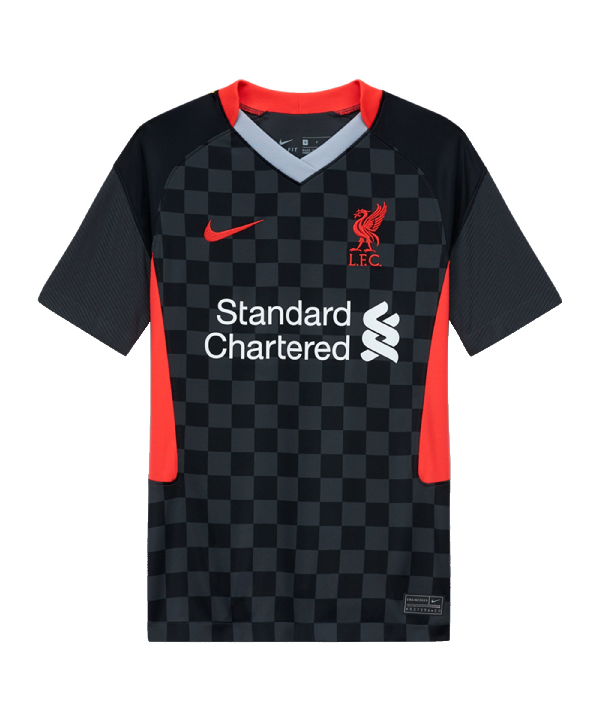 Nike FC Liverpool Trikot UCL 2020/2021 Kids Grau F060 - grau