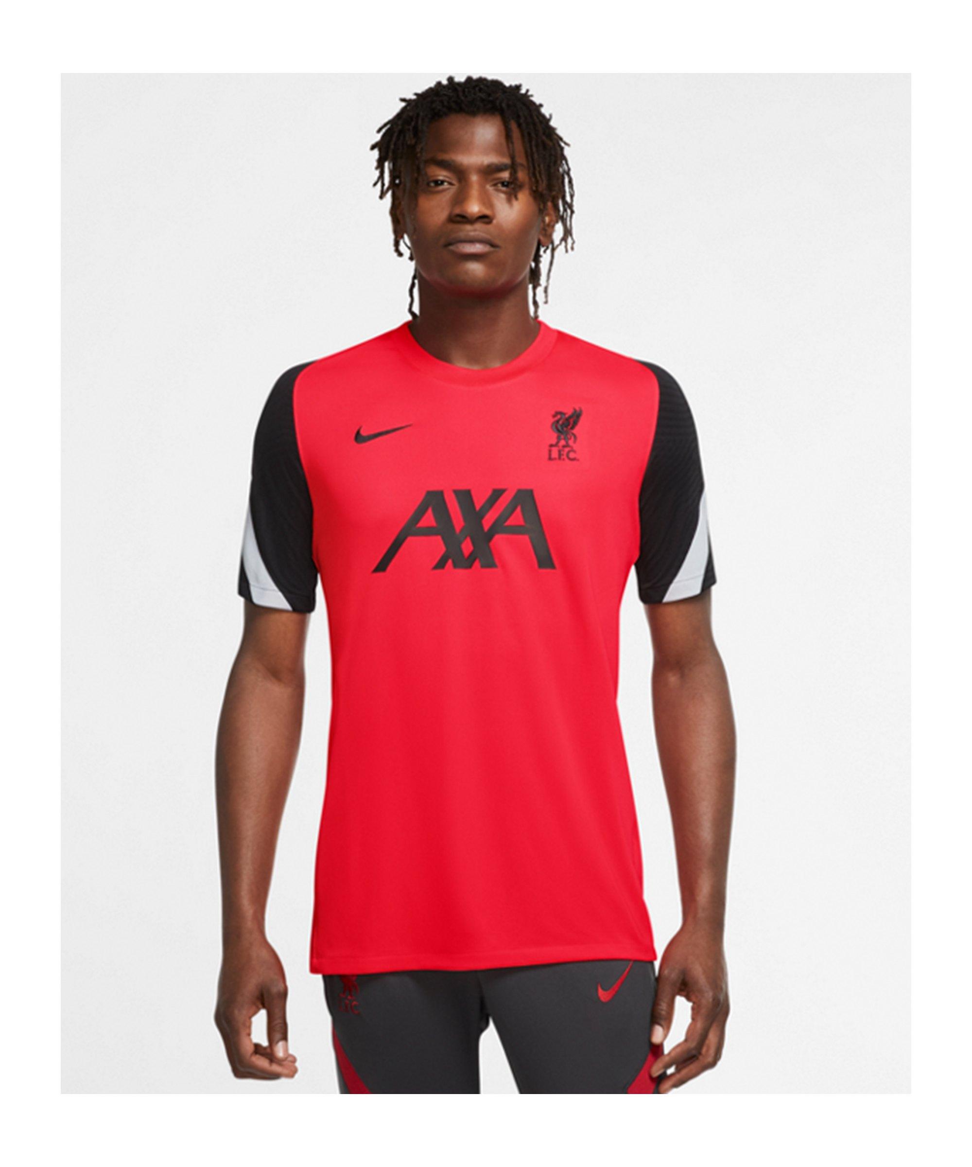 Nike FC Liverpool Strike Trainingsshirt CL F644 - rot