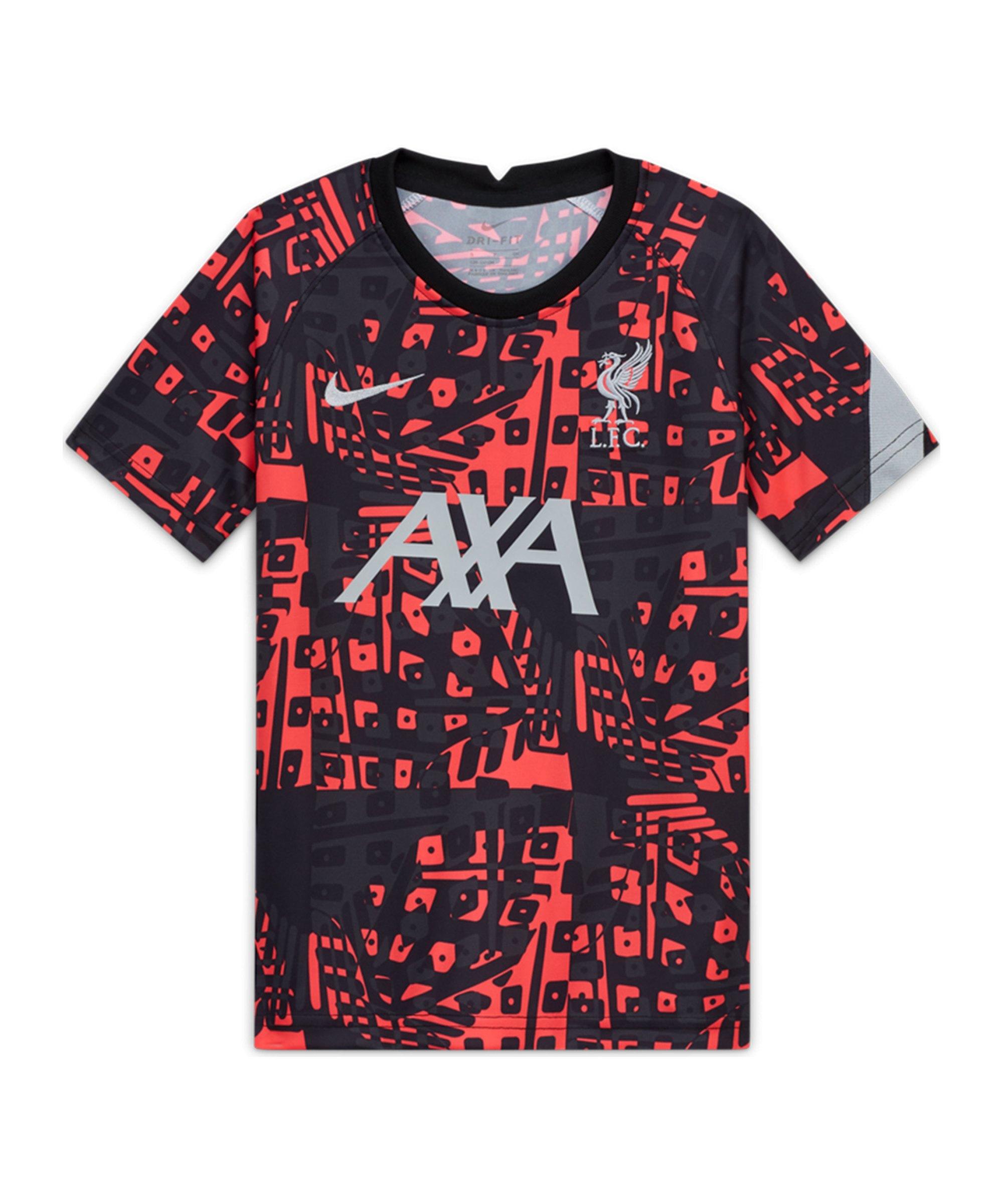 Nike FC Liverpool Prematch Shirt Schwarz F010 - schwarz