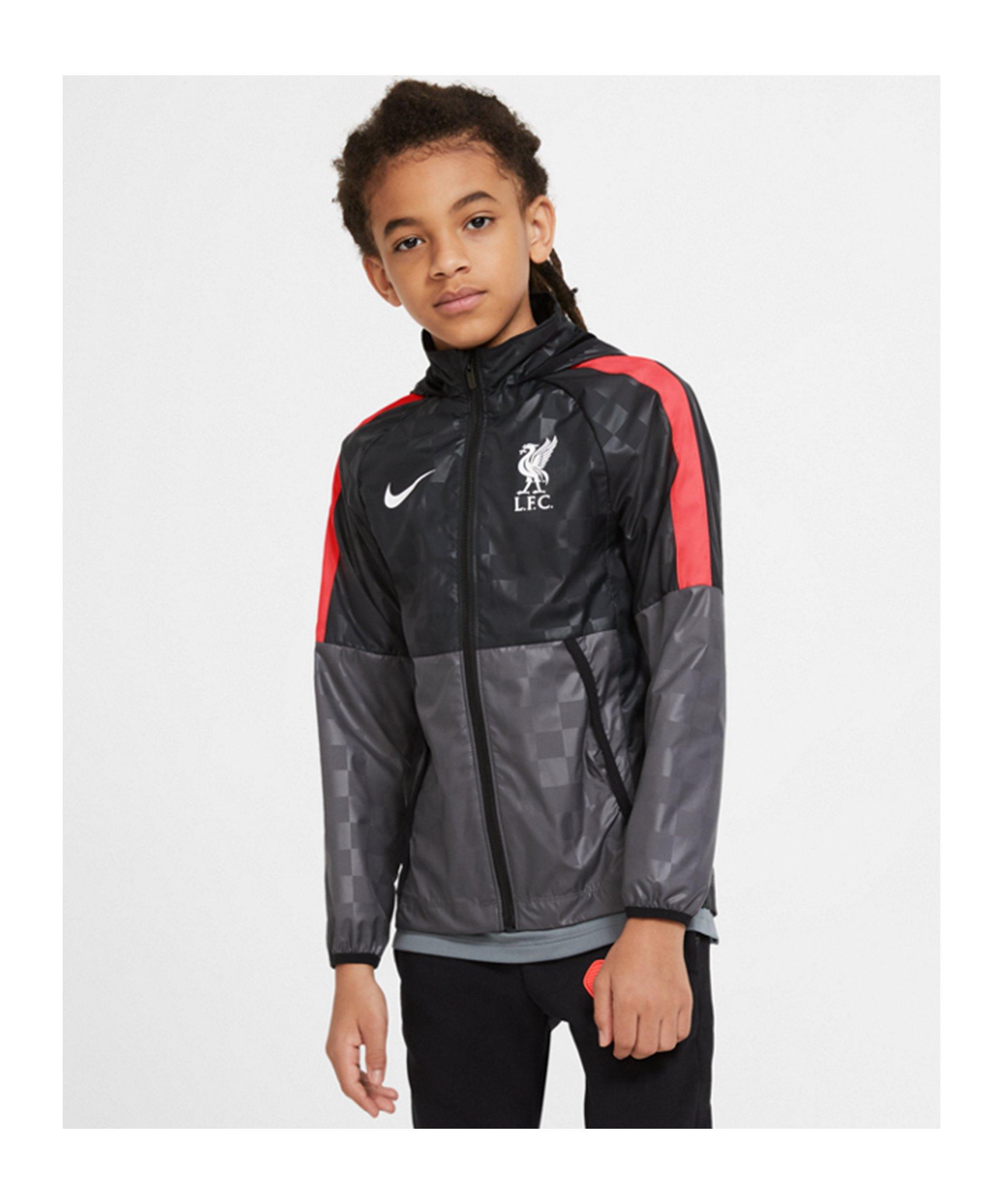 Nike FC Liverpool AWF Lite Jacke CL Kids F012 - grau