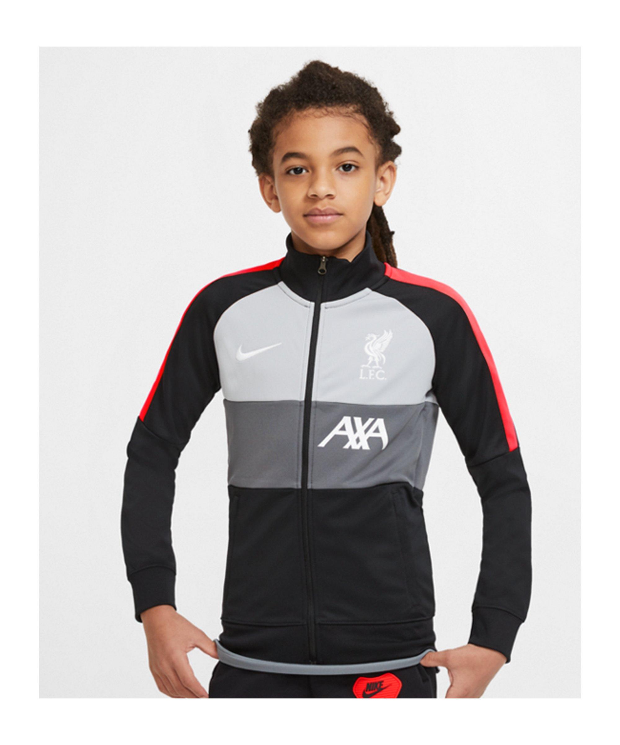 Nike FC Liverpool I96 Anthem Jacke CL Kids F010 - schwarz