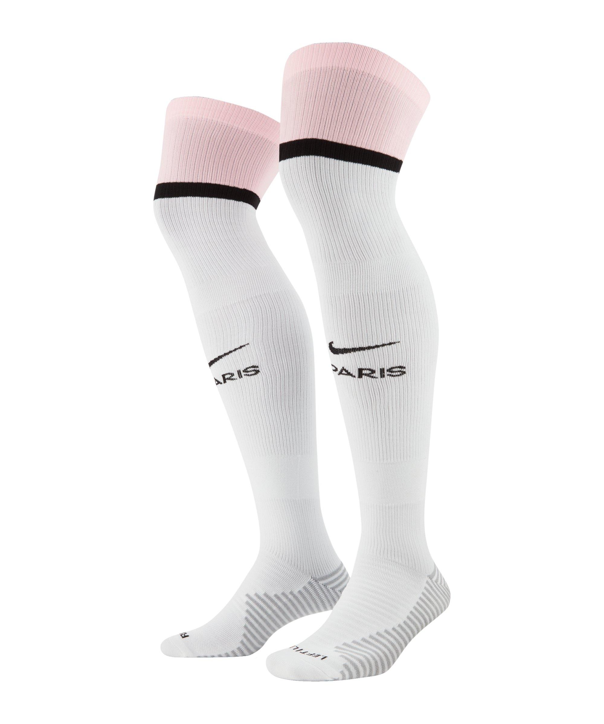 Nike Paris St. Germain Stutzen Away 21/22 F100 - weiss