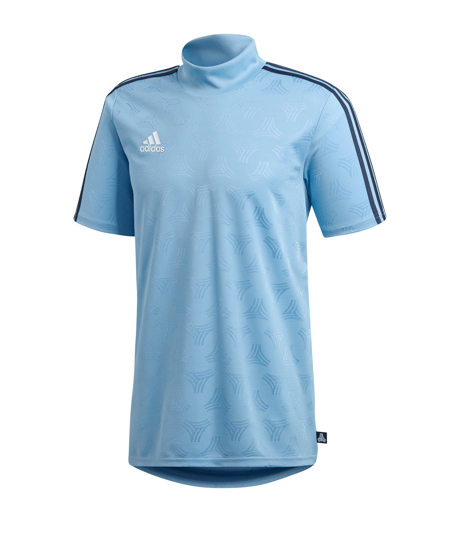 adidas Tango JQ Tee T-Shirt Blau - blau