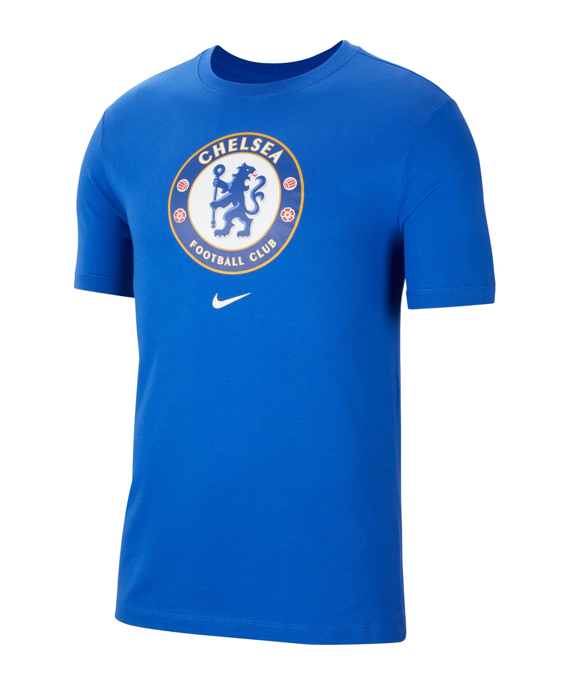 Nike FC Chelsea London Evergreen T-Shirt F480 - blau