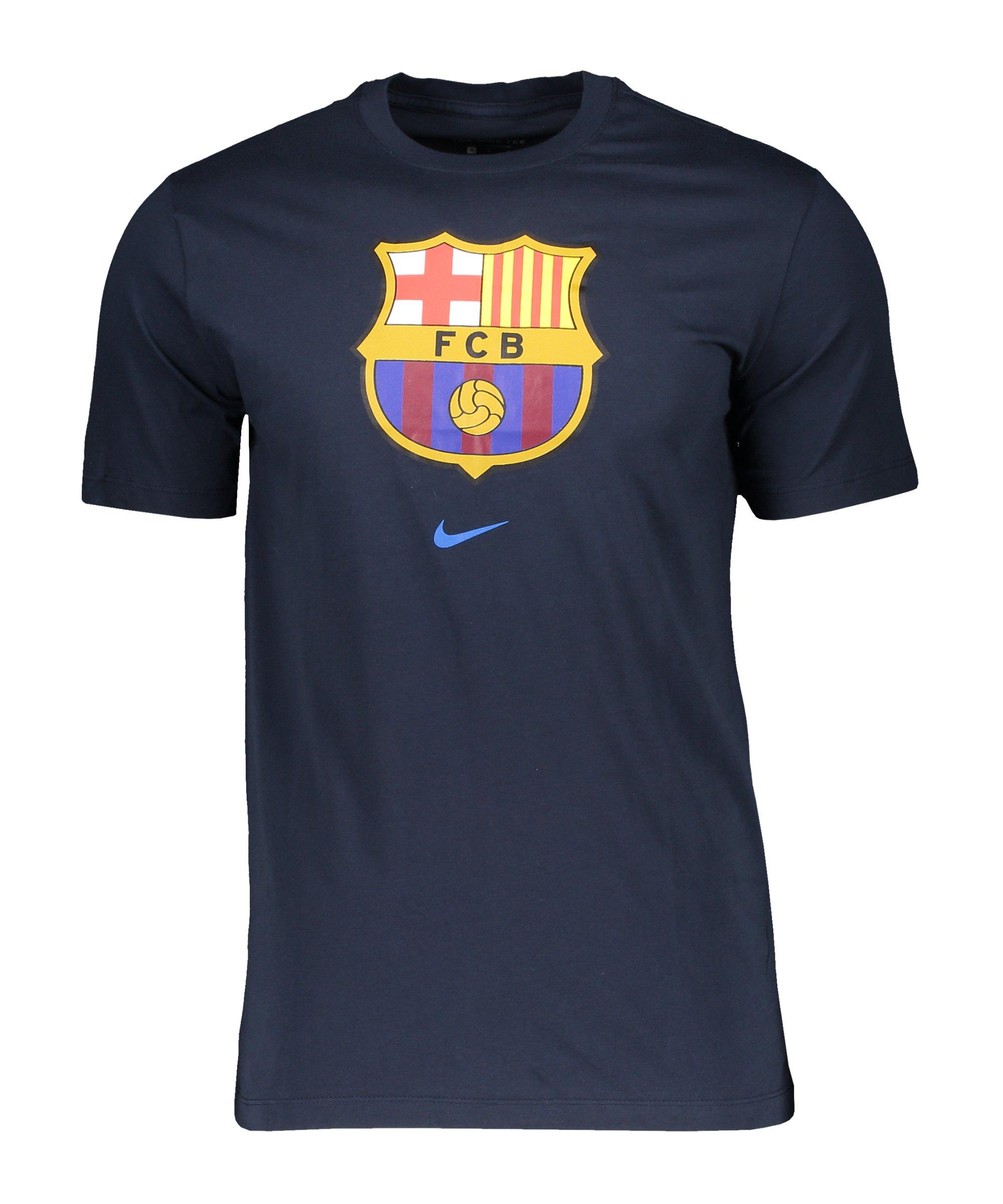 Nike FC Barcelona Evergreen T-Shirt F403 - blau