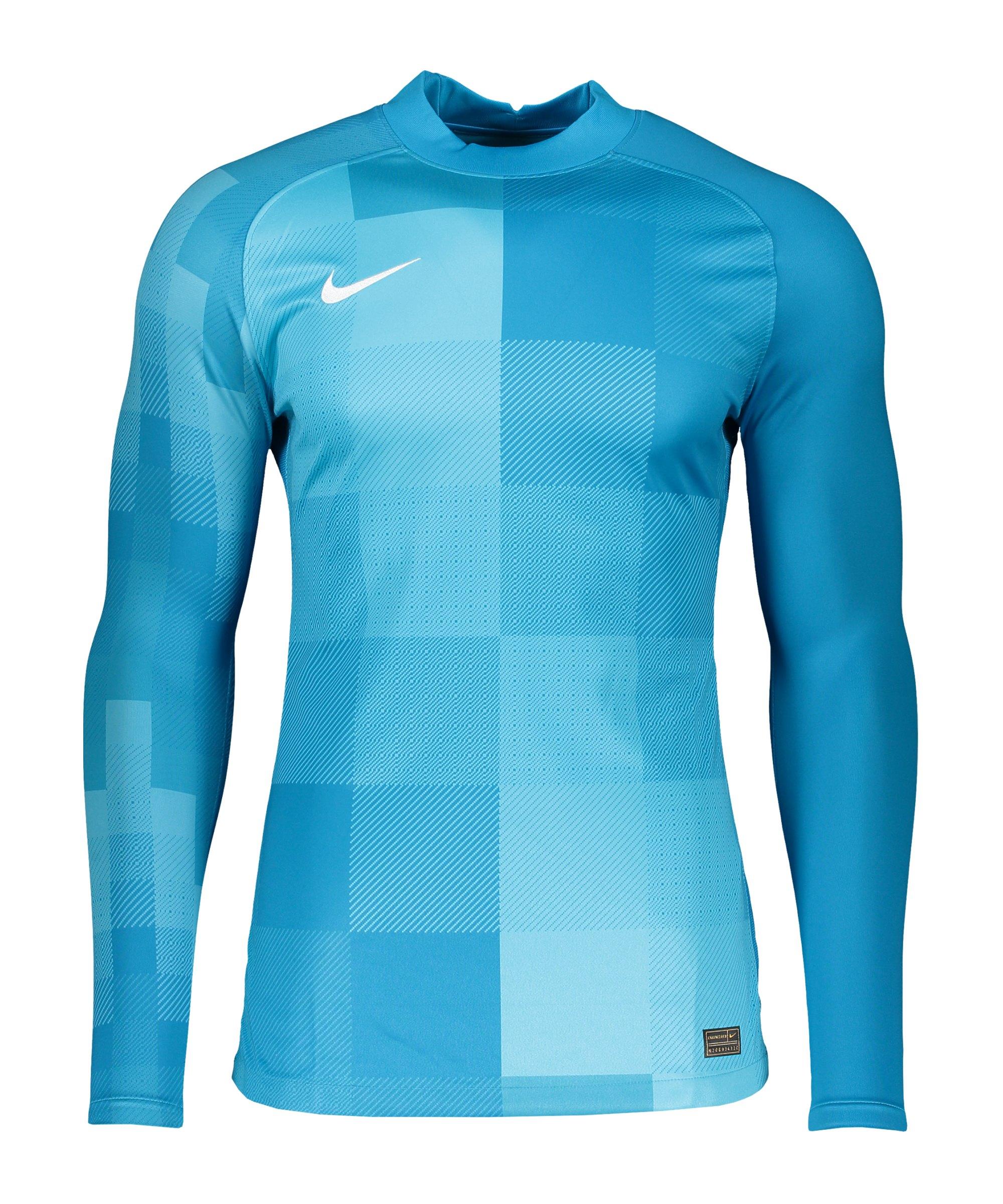 Nike Promo TW-Trikot langarm Blau F411 - blau