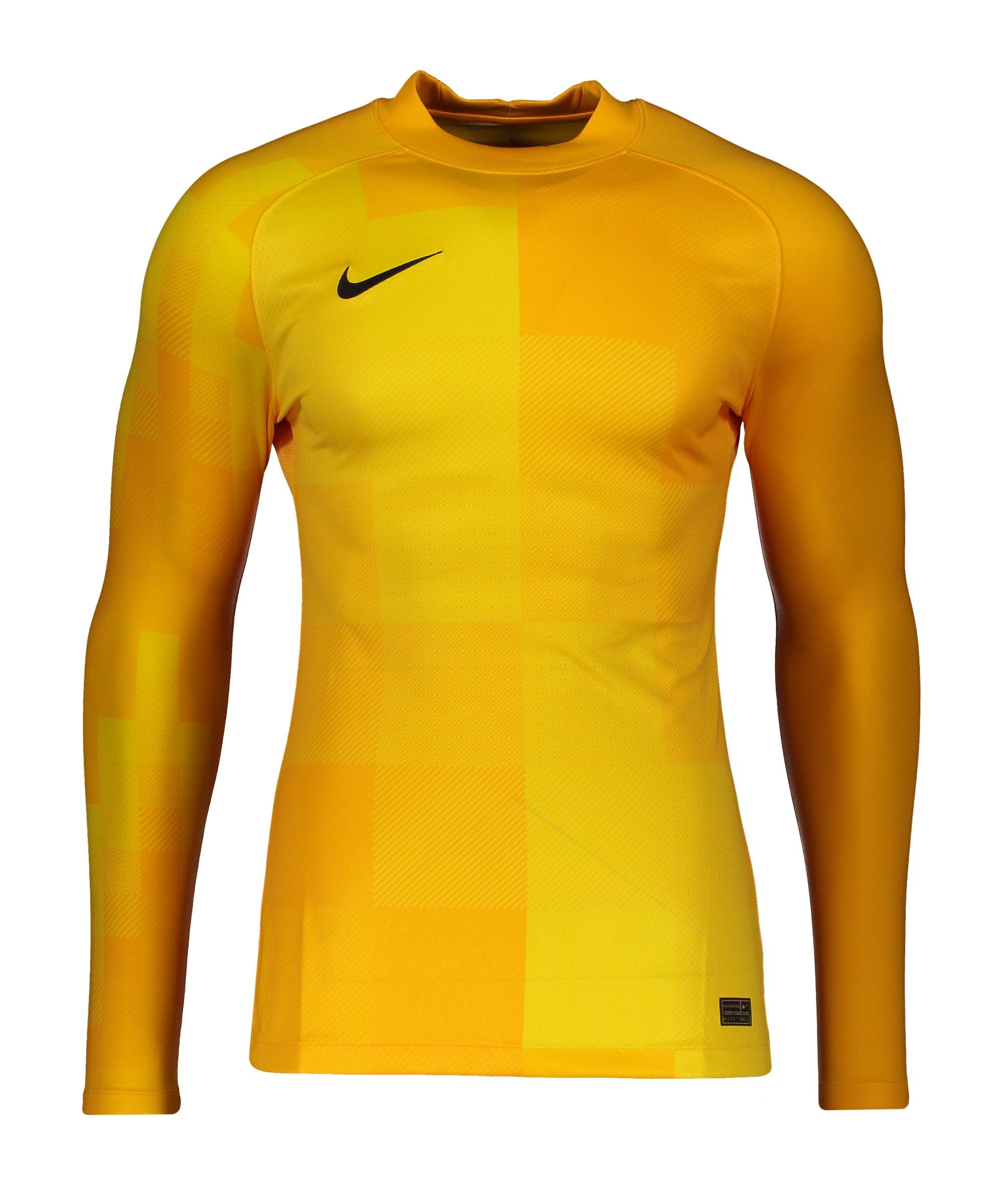 Nike Promo TW-Trikot langarm Gelb F739 - gelb