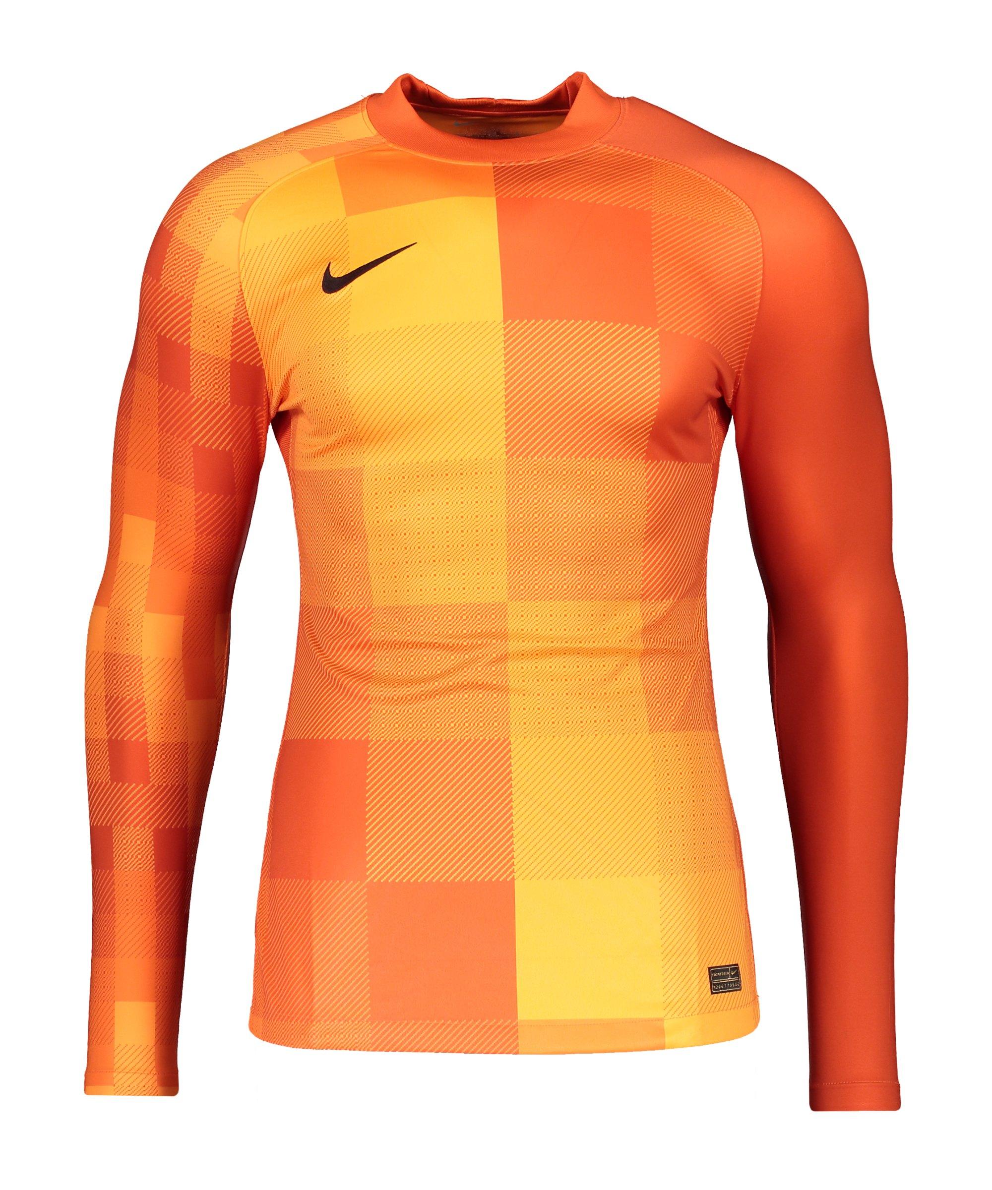 Nike Promo TW-Trikot langarm Orange F819 - orange