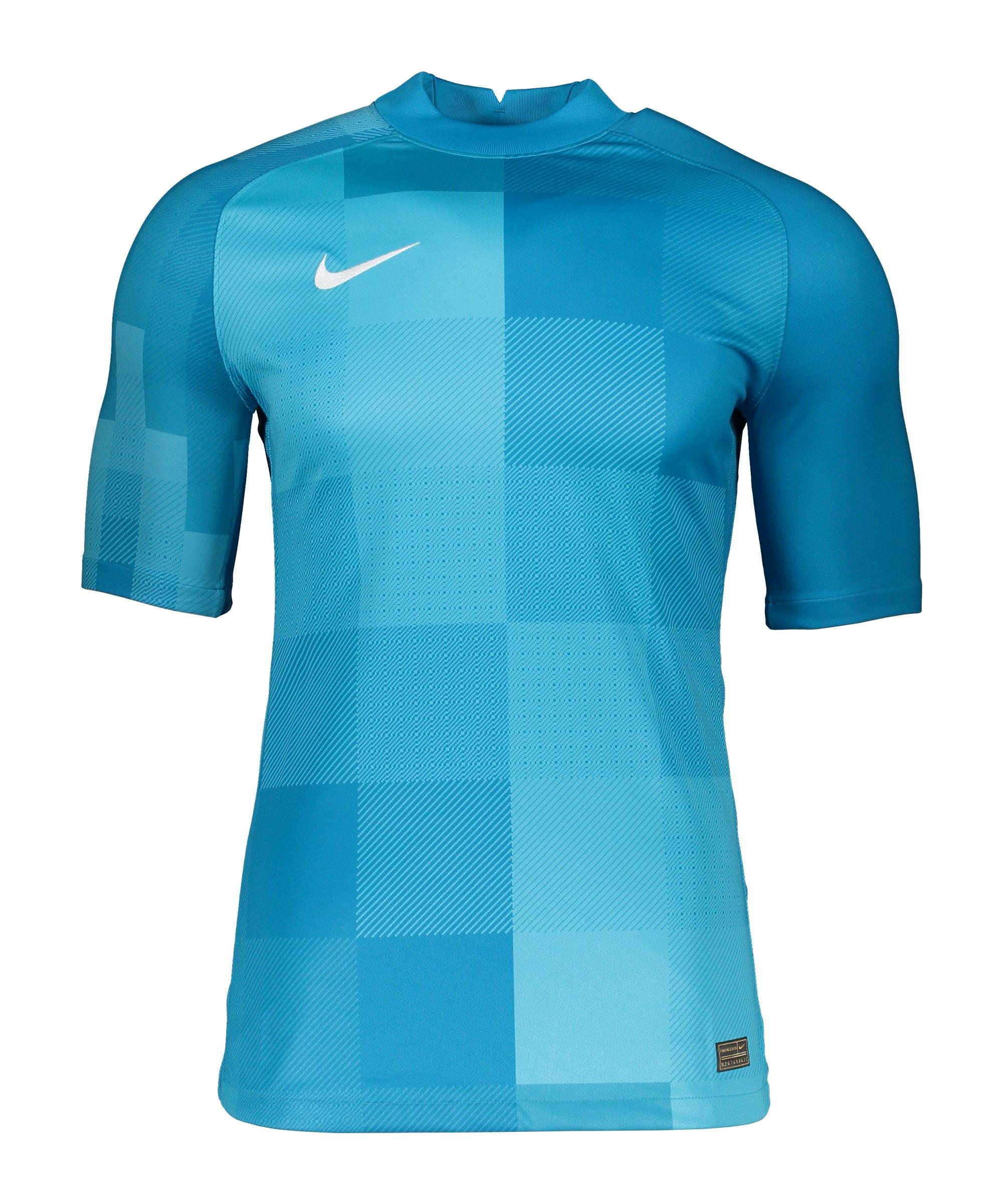 Nike Promo TW-Trikot kurzarm F411 - blau