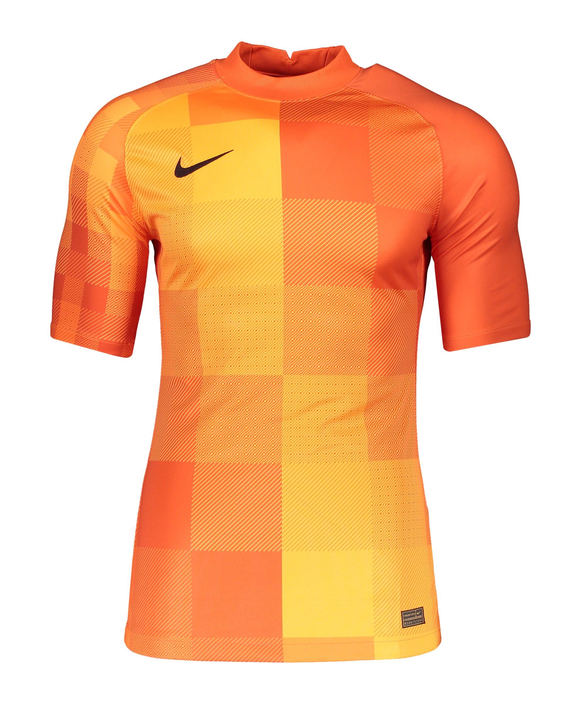 Nike Promo TW-Trikot kurzarm Orange F819 - orange