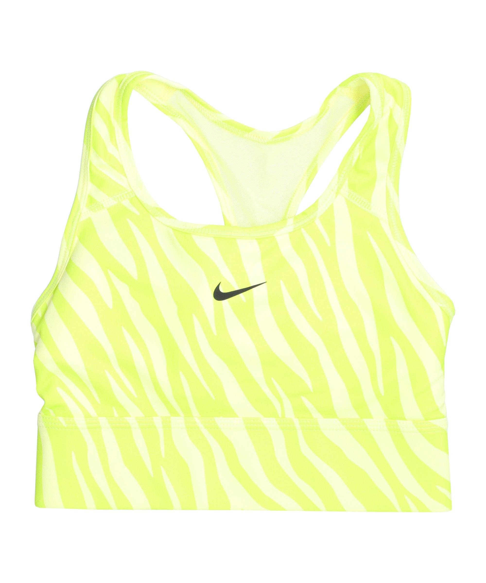 Nike Swoosh Iconclash Sport-BH Damen Gelb F712 - gelb