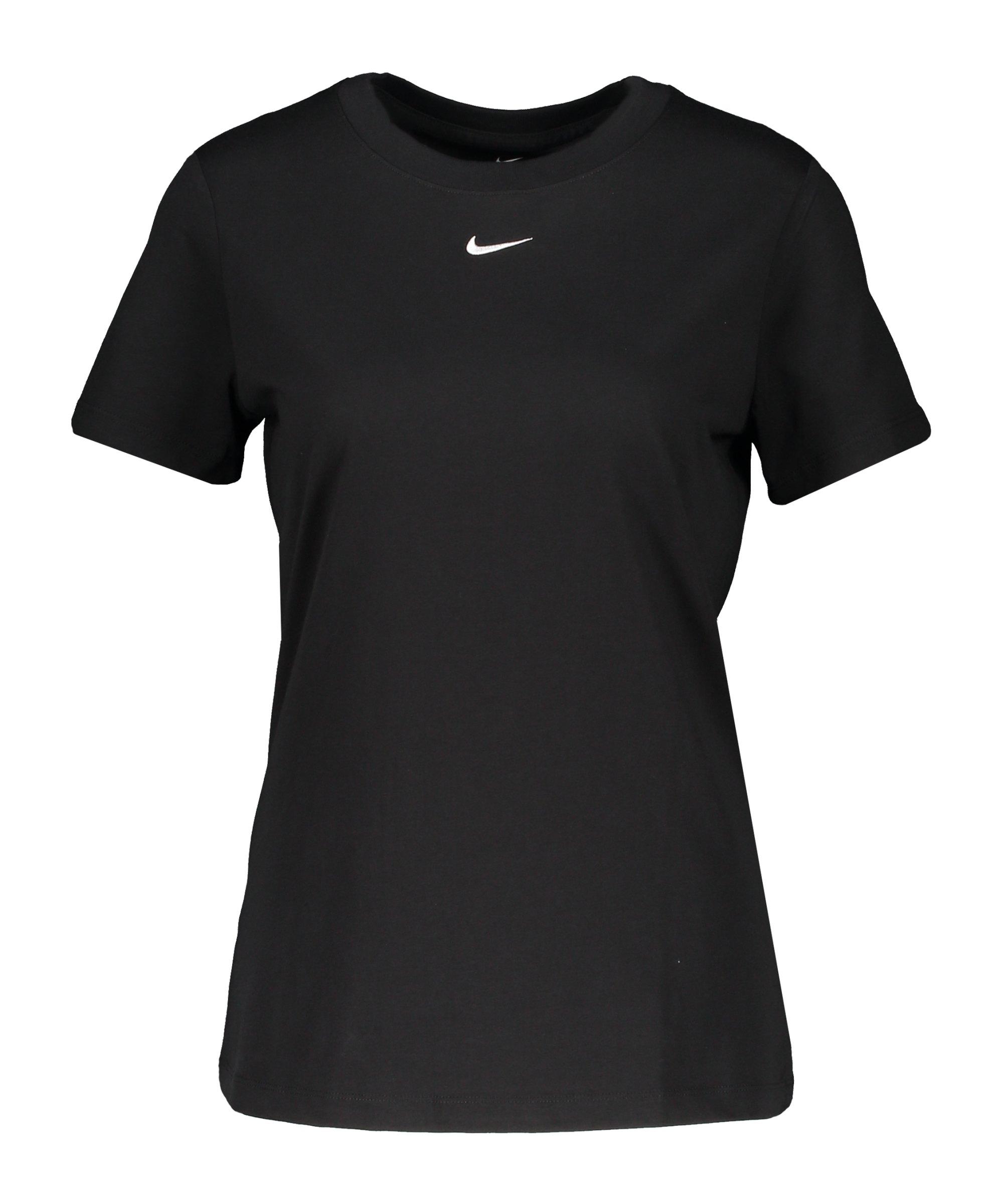 Nike Essentials T-Shirt Damen Schwarz F011 - schwarz