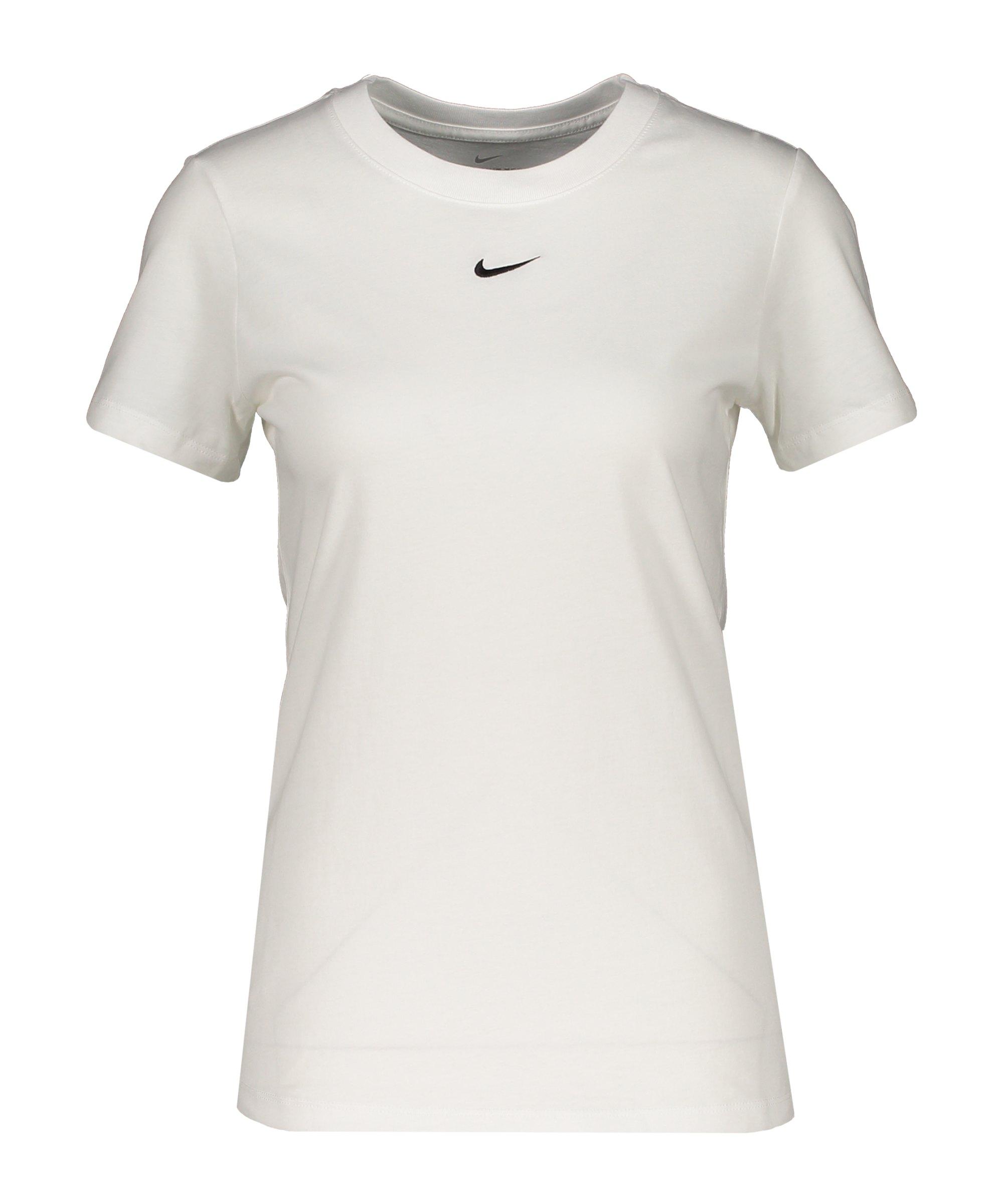 Nike Essentials T-Shirt Damen Weiss F101 - weiss