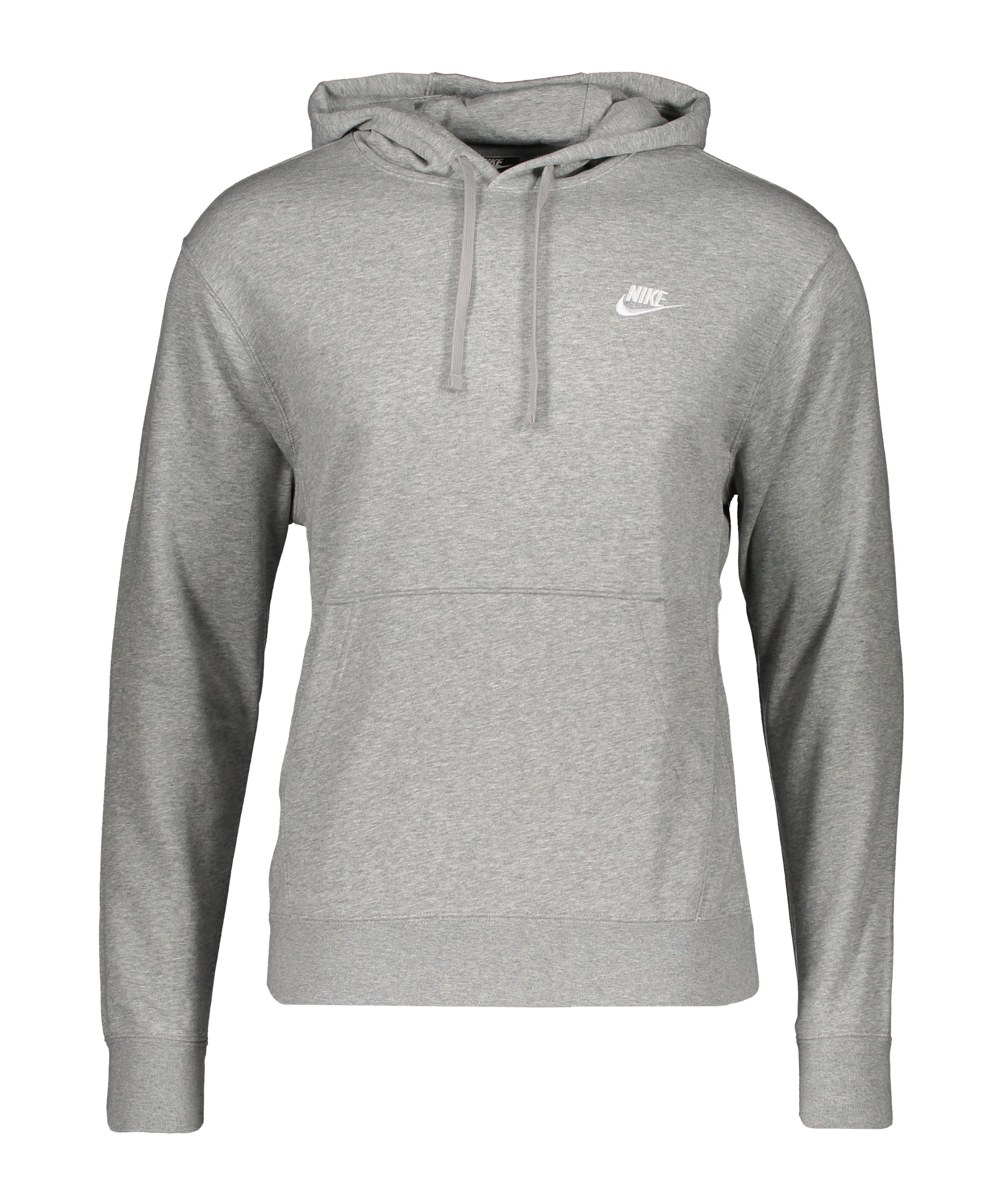 Nike Club Hoody Grau F063 - grau