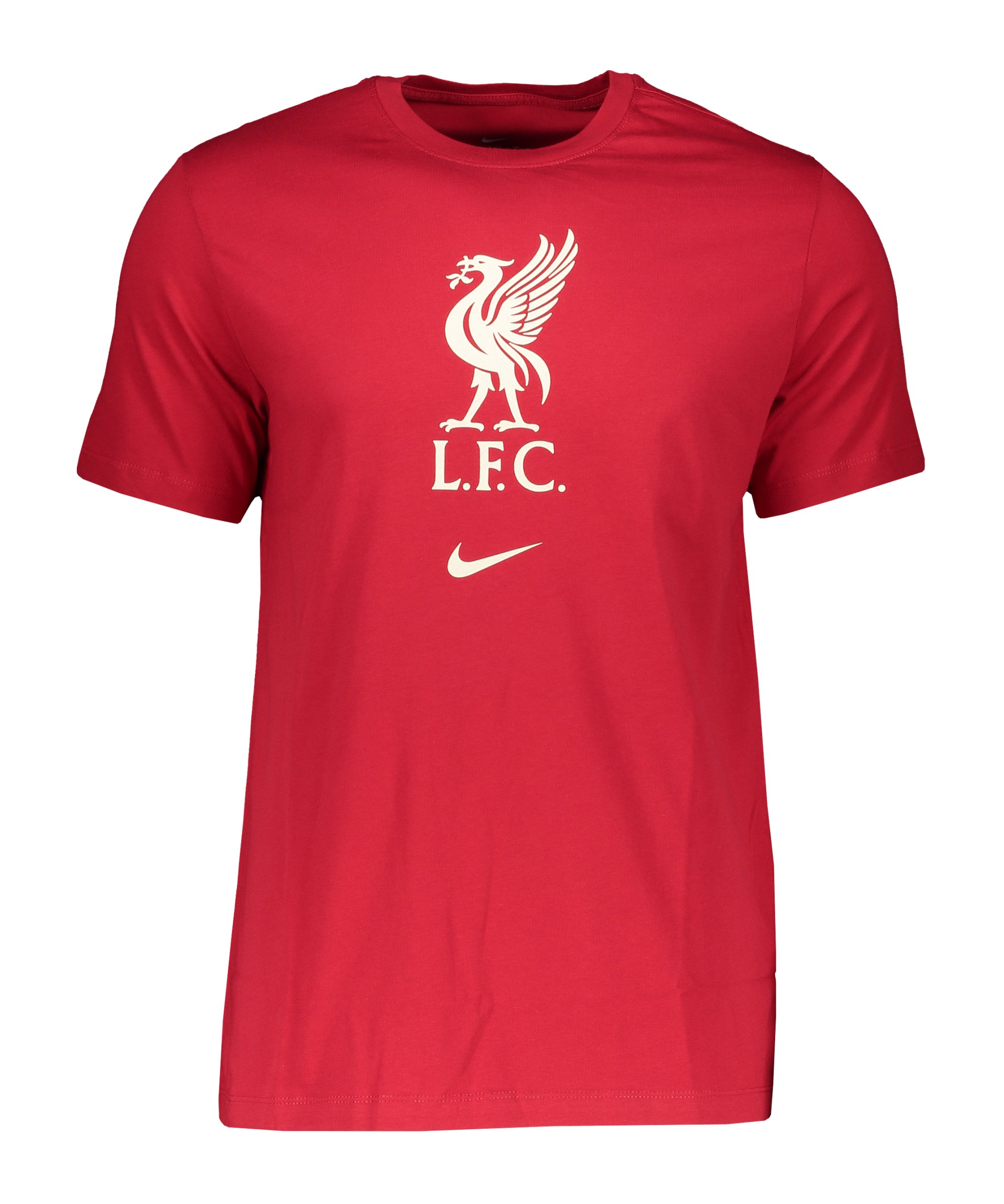 Nike FC Liverpool Evergreen Crest T-Shirt Rot F687 - rot