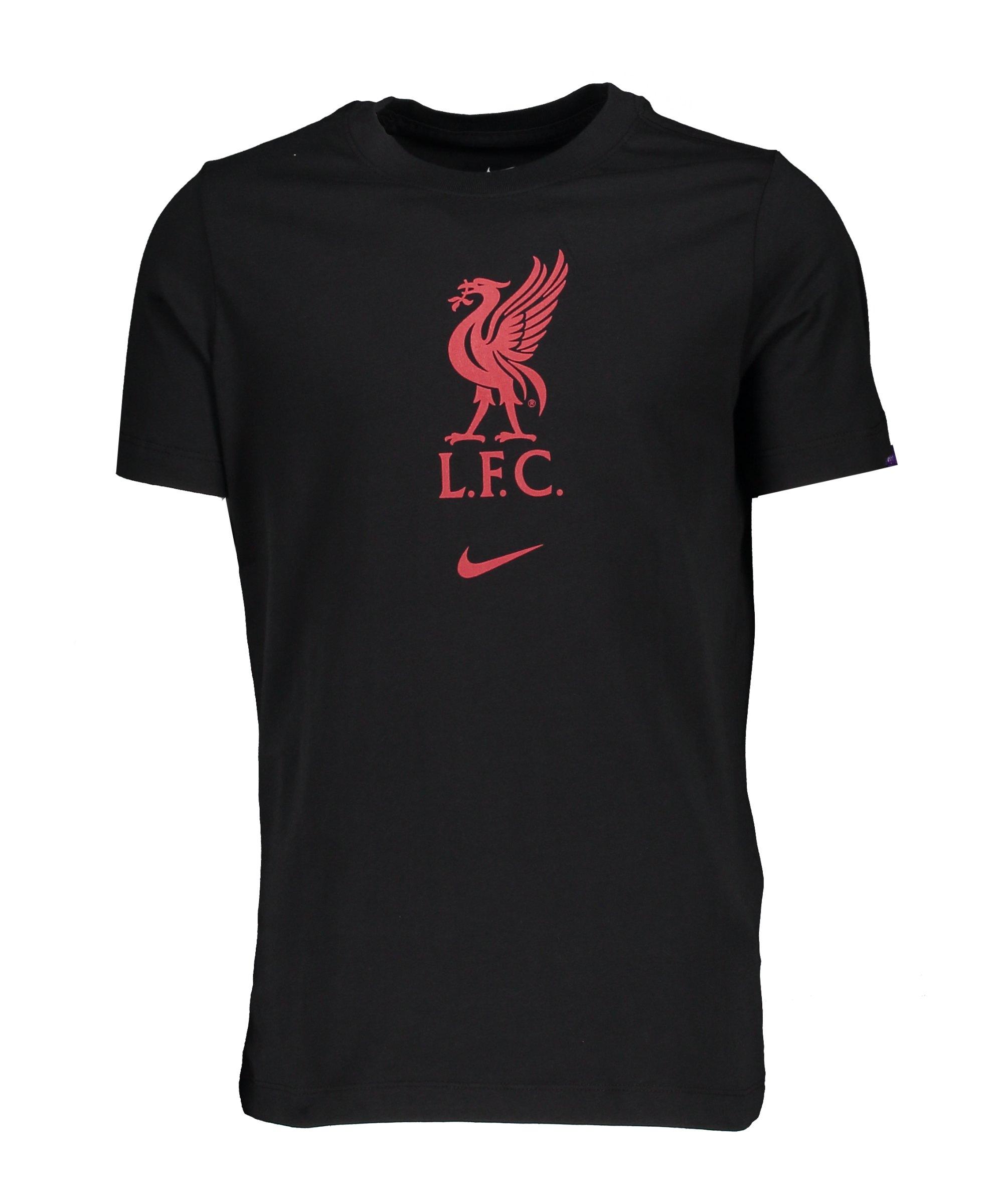 Nike FC Liverpool Evergreen T-Shirt Kids F010 - schwarz