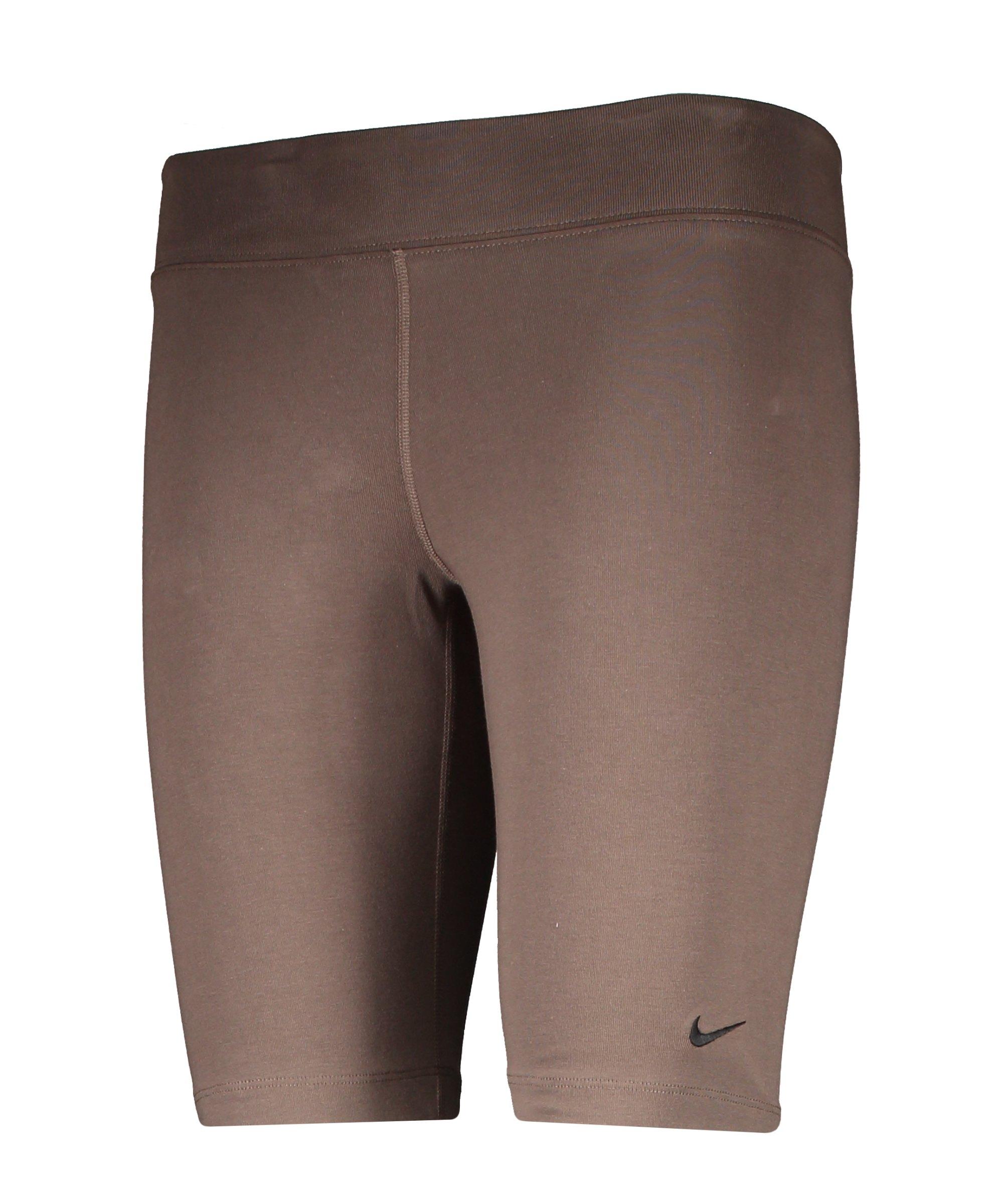 Nike Essentials Bike Short Damen Grau Schwarz F004 - braun