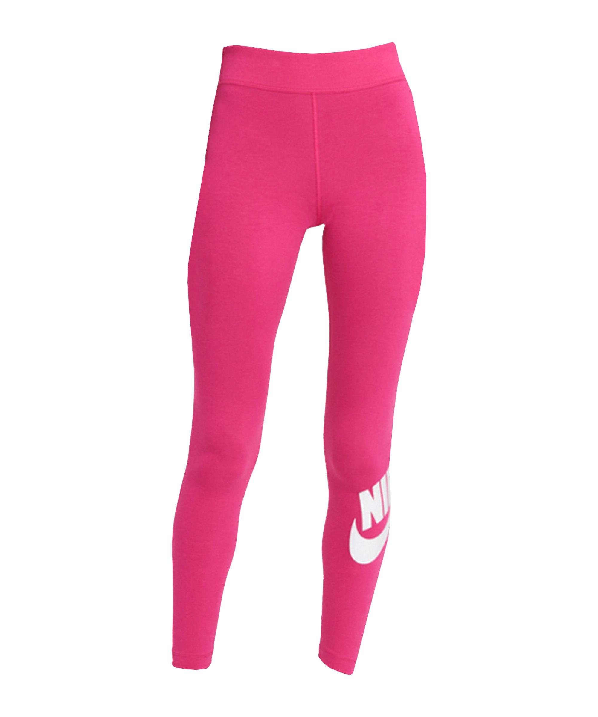 Nike Essentials Leggings Damen Pink Weiss F615 - pink