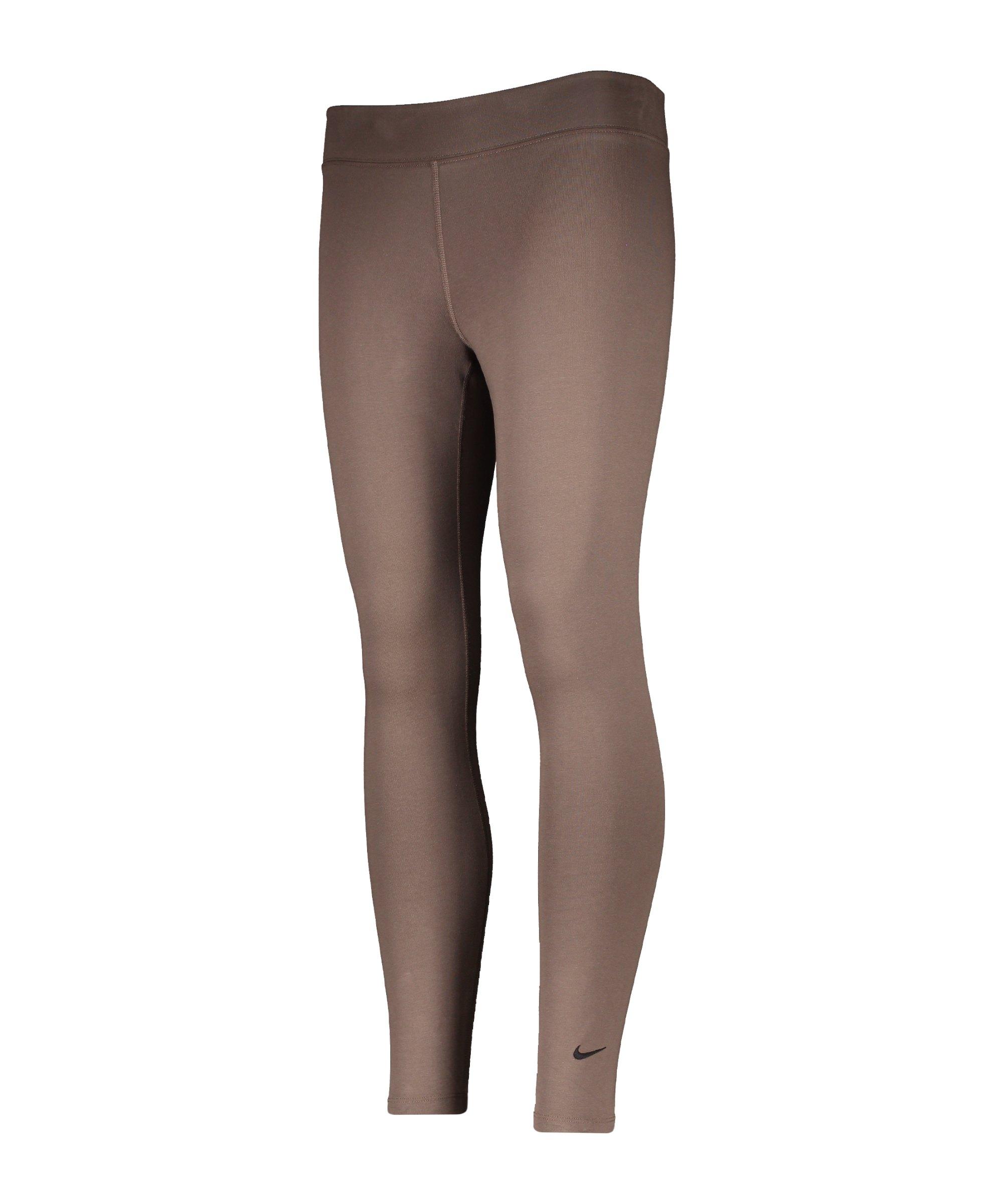 Nike Essentials 7/8 Leggings Damen Grau F004 - grau