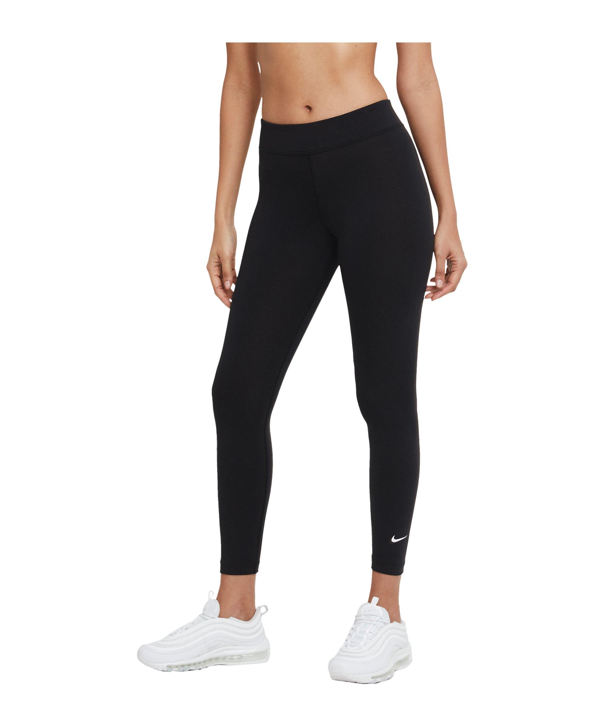 Nike Essentials 7/8 Leggings Damen Schwarz F010 - schwarz