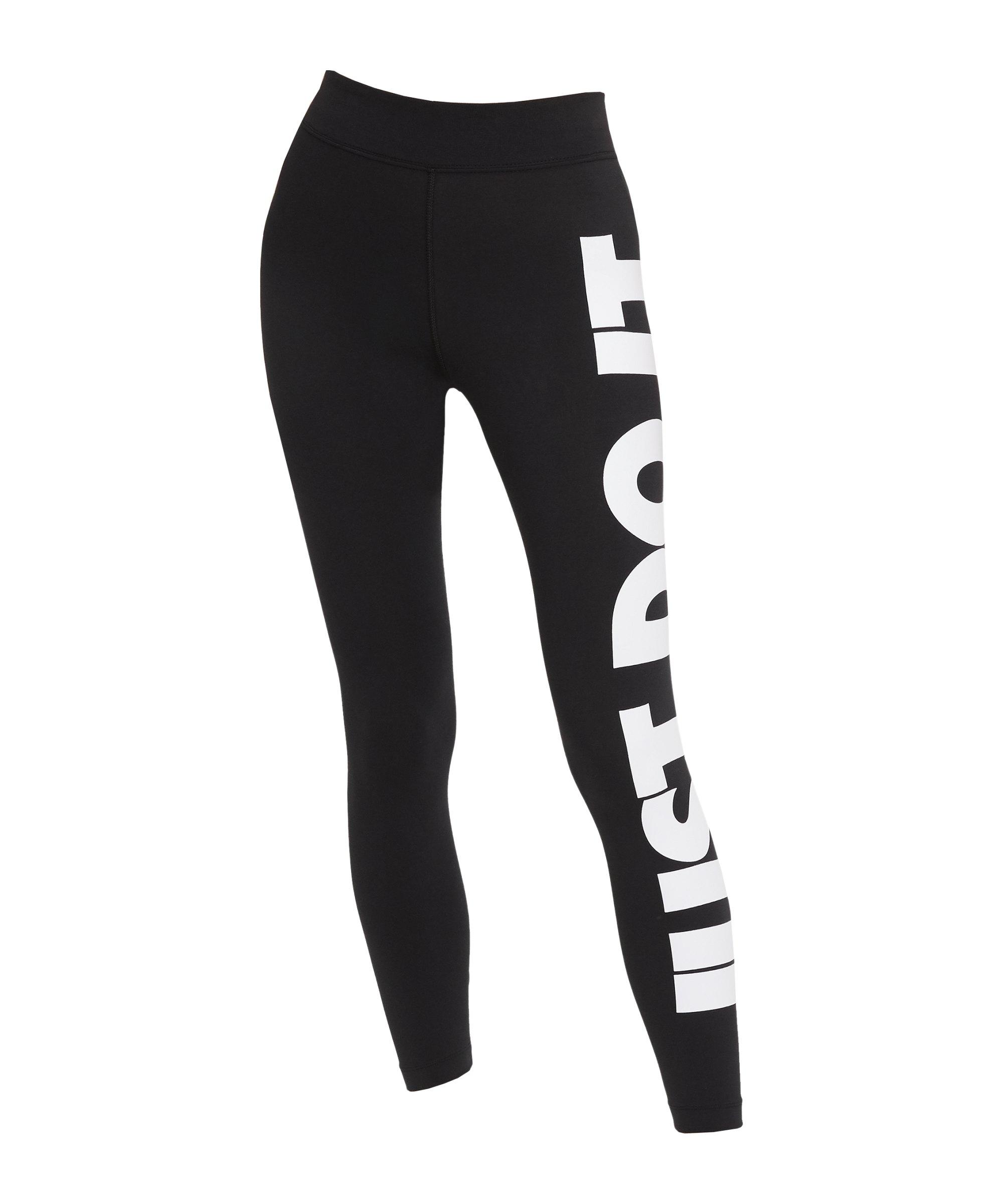 Nike Essential Just Do It GX Leggings Damen F010 - schwarz
