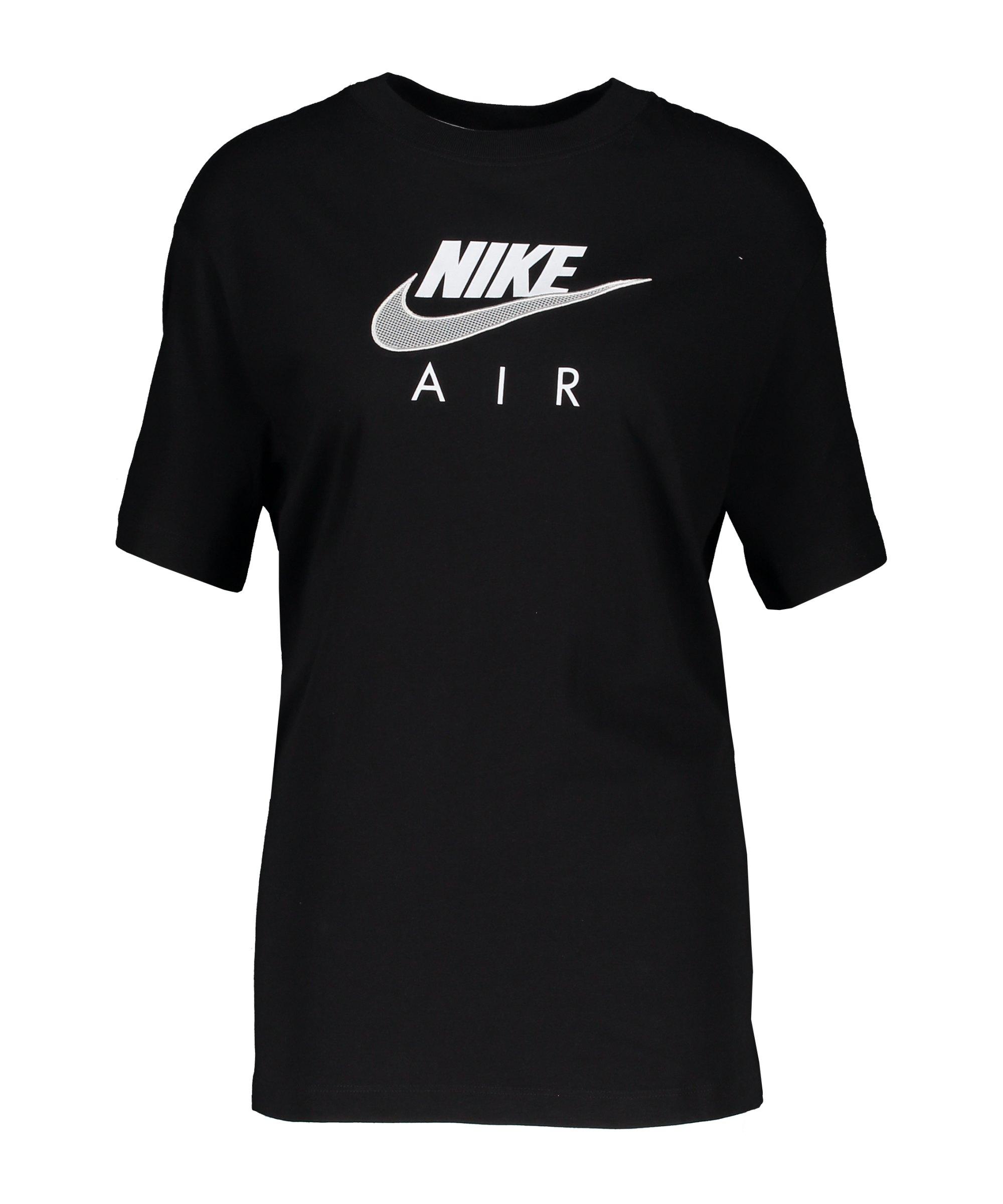 Nike Air Boyfriend T-Shirt Damen Schwarz F010 - schwarz