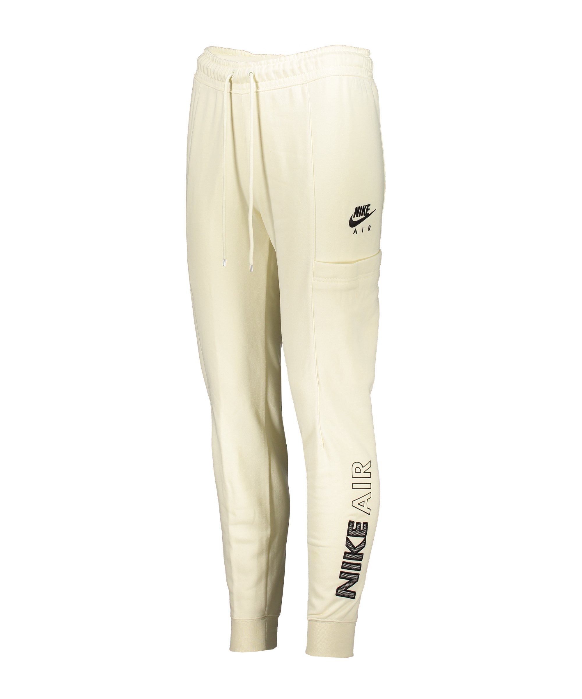 Nike Air Jogginghose Damen Beige Schwarz F113 - beige