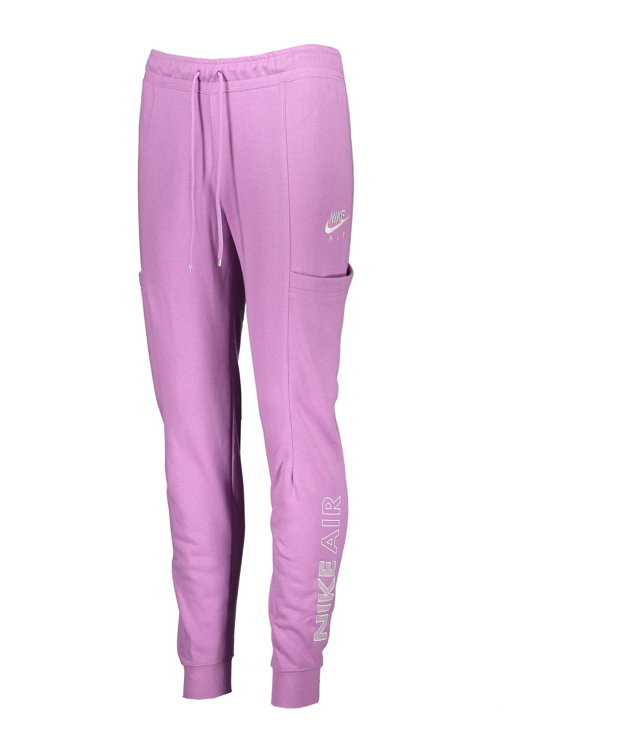 Nike Air Jogginghose Damen Lila Weiss F591 - lila