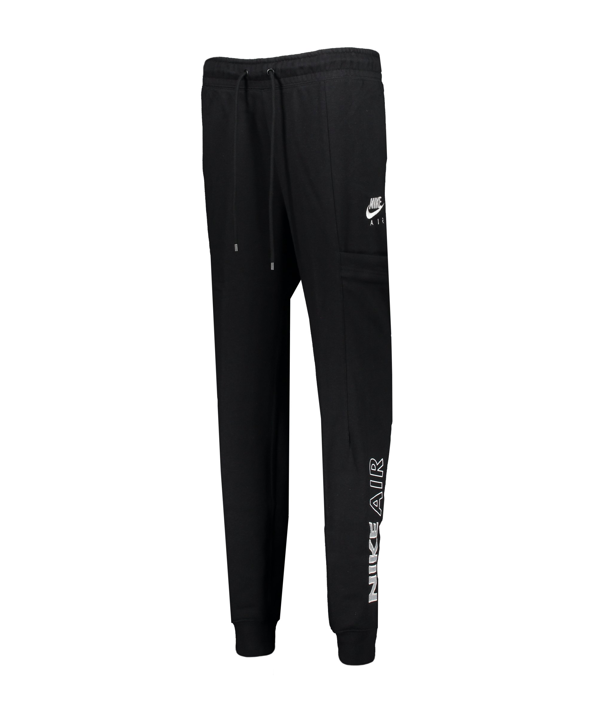 Nike Air Jogginghose Damen Schwarz Weiss F010 - schwarz