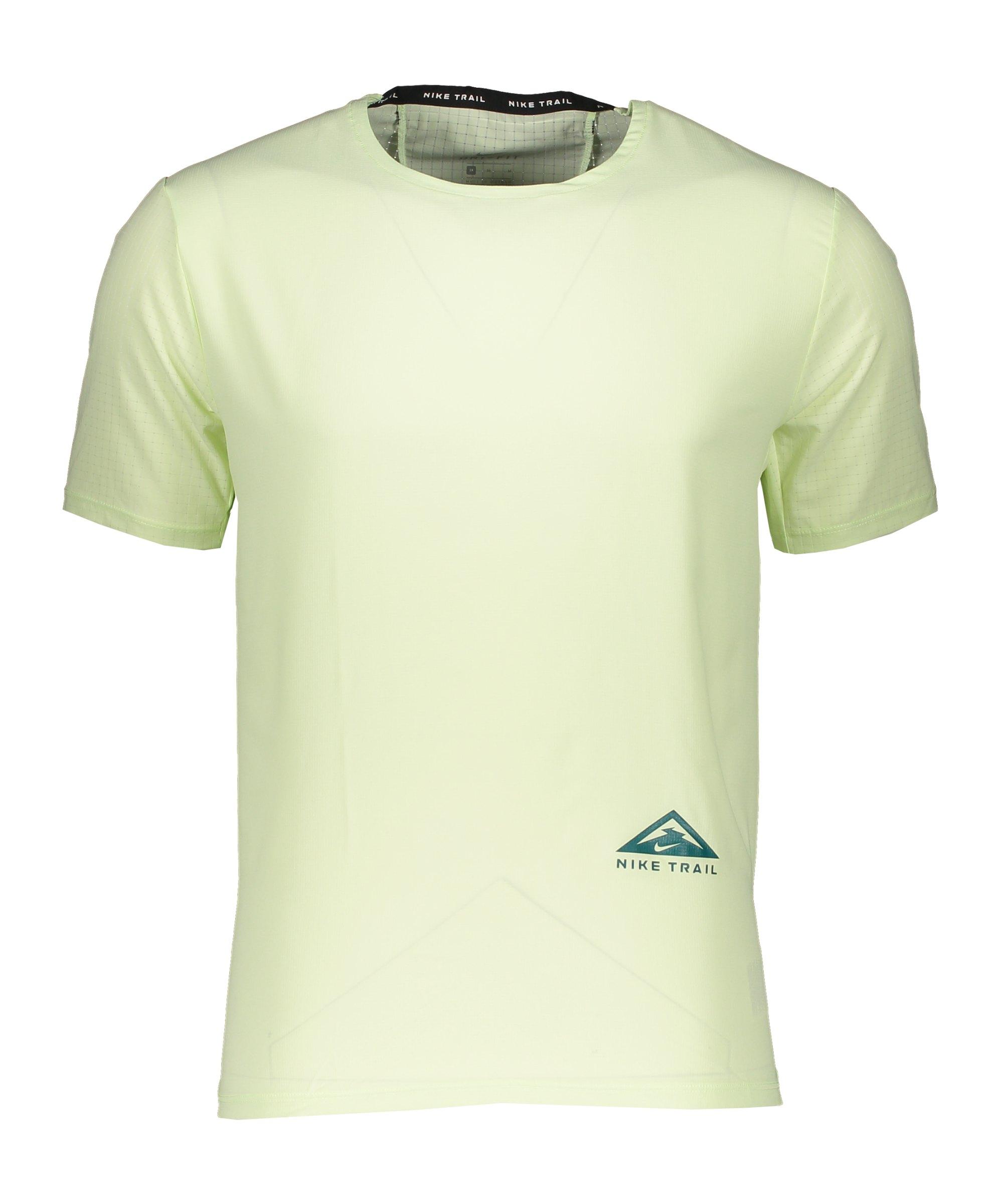 Nike Trail Rise 365 T-Shirt Running Gelb F303 - gelb