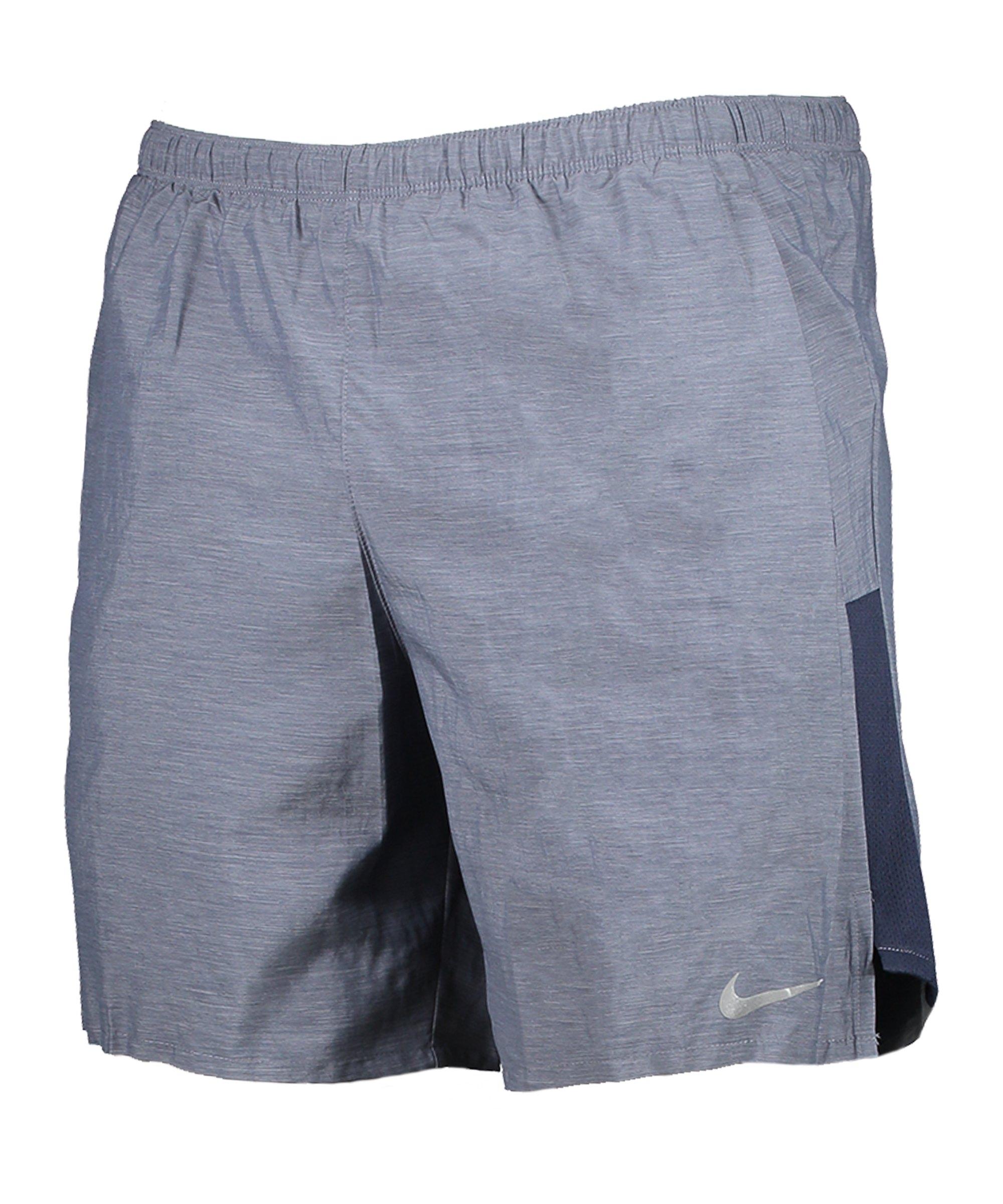 Nike Challenger 7 2in1 Short Running Blau F451 - blau