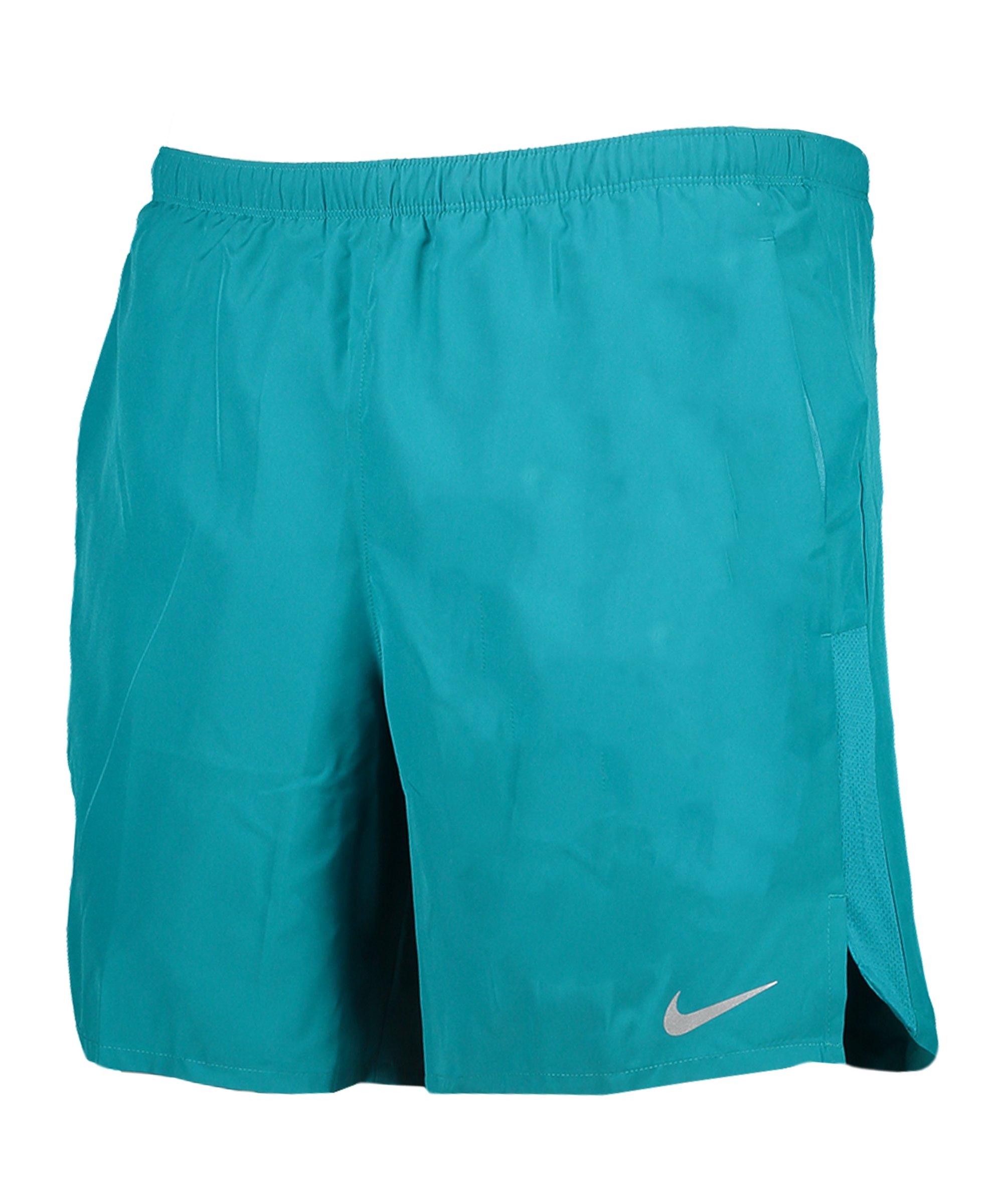 Nike Challenger 7 2in1 Short Running Blau F467 - blau