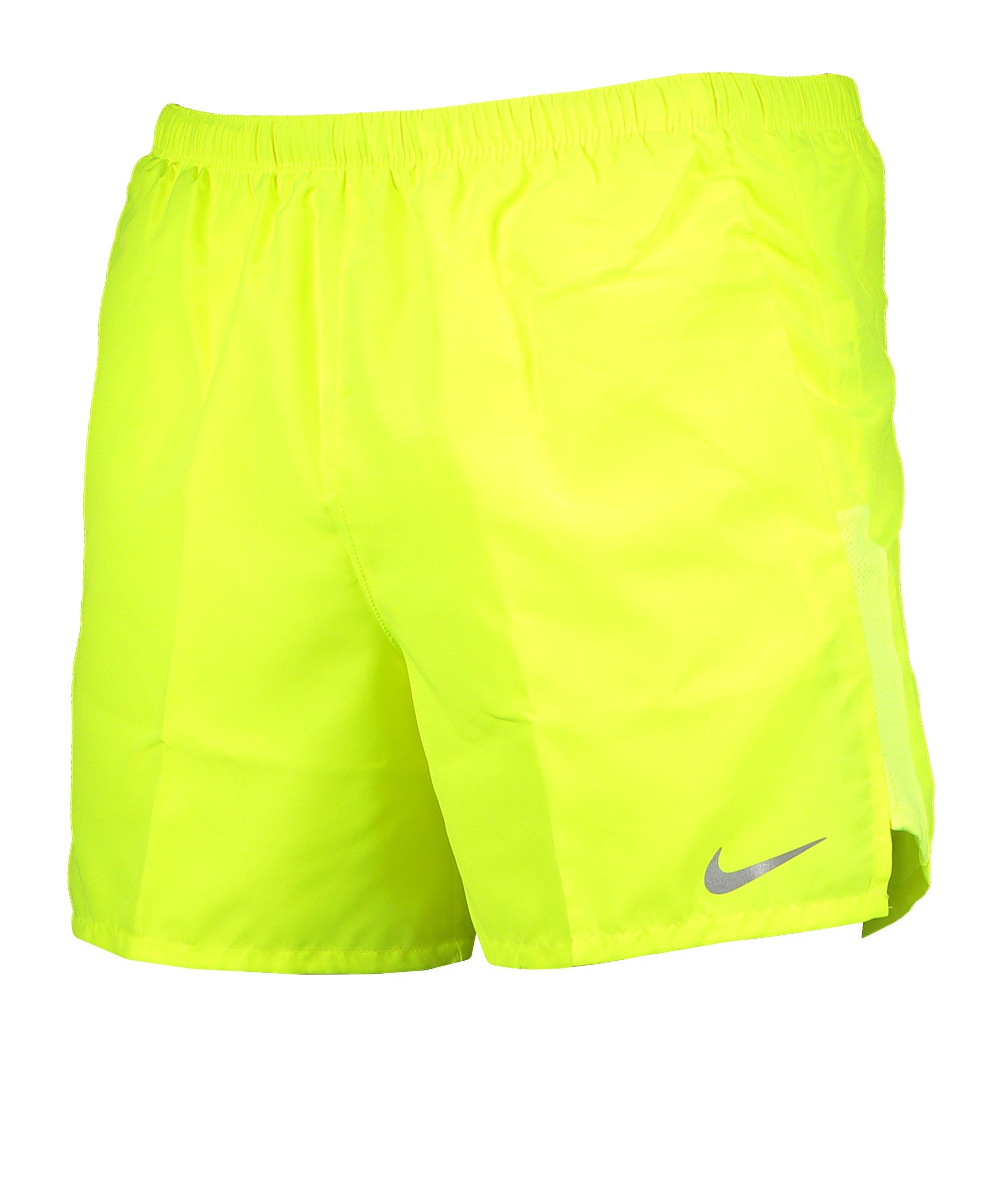 Nike Challenger Brief-Lined 5in Short Running F702 - gelb