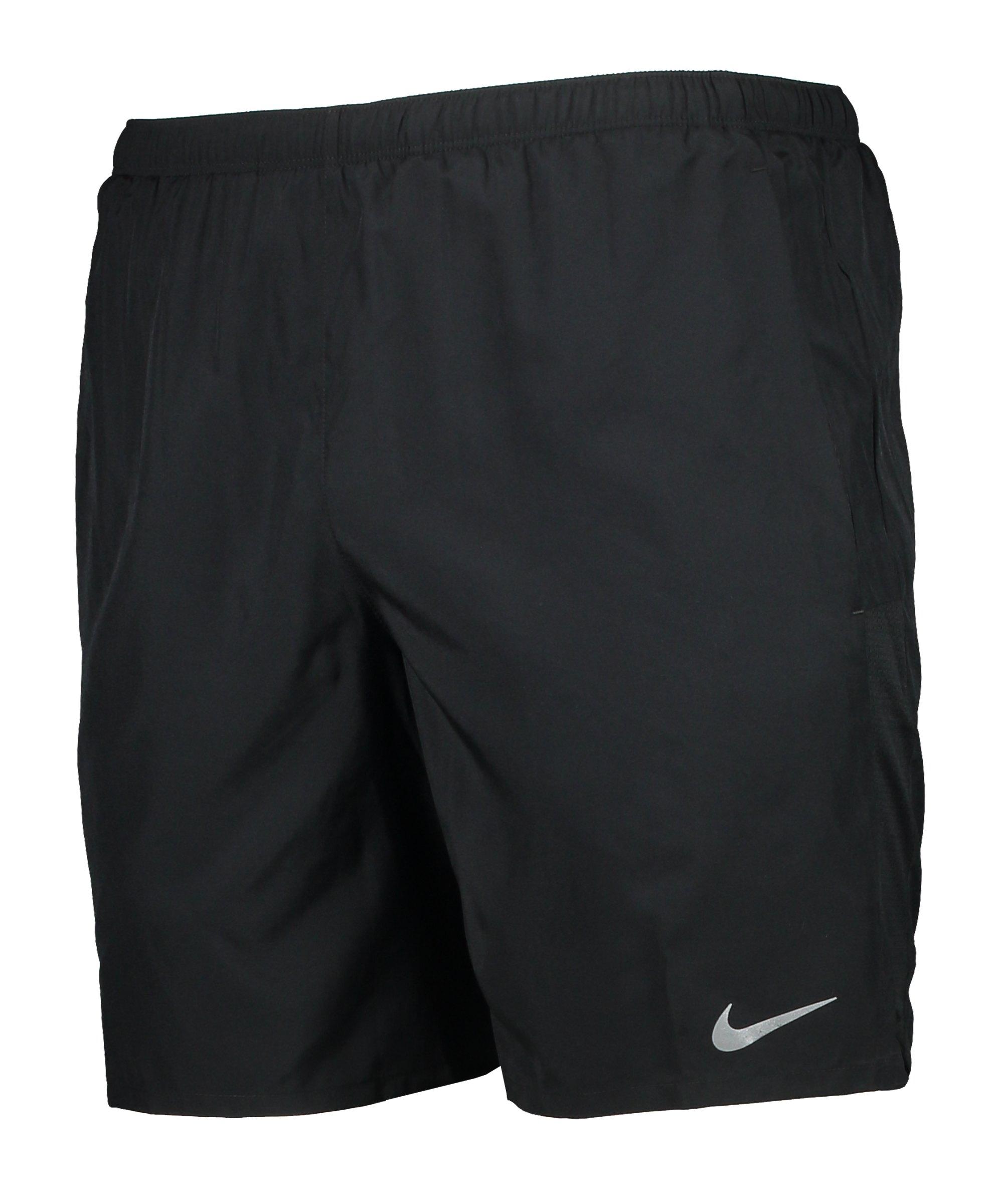 Nike Challenger Brief-Lined2 Short Running F010 - schwarz