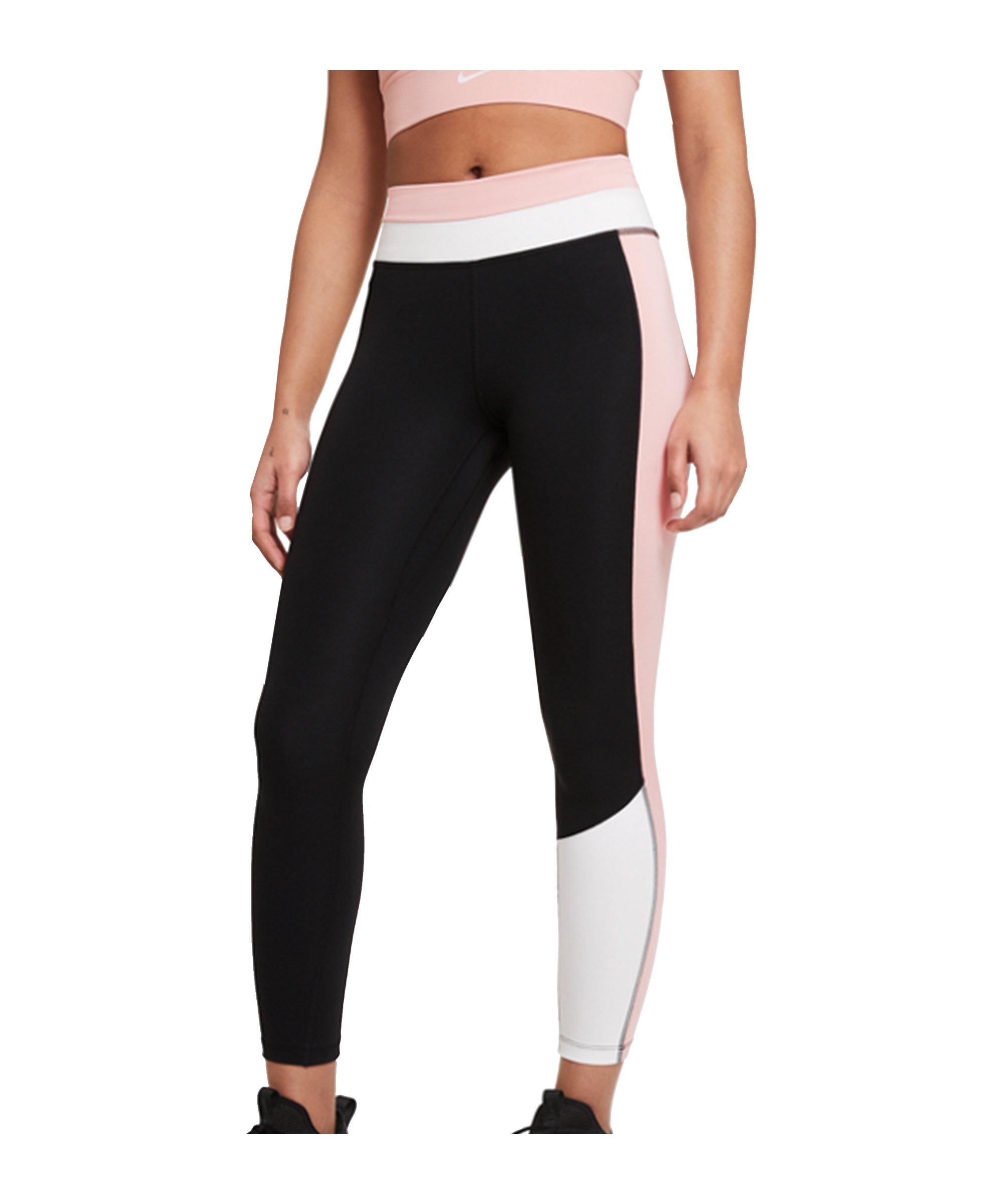 Nike One 7/8 CLRBLK Leggings Training Damen F010 - schwarz