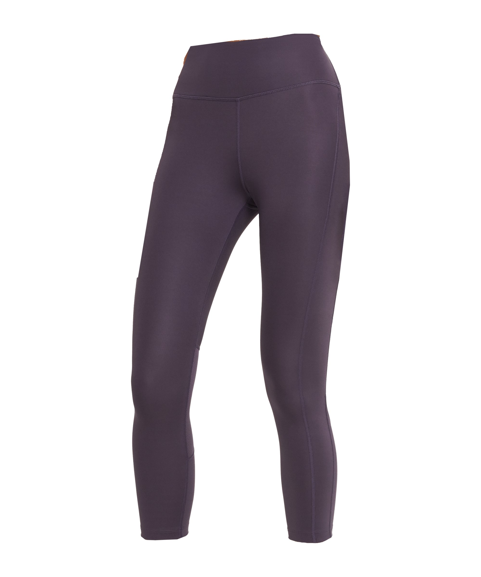 Nike Fast Crop Leggings Running Damen Lila F573 - lila