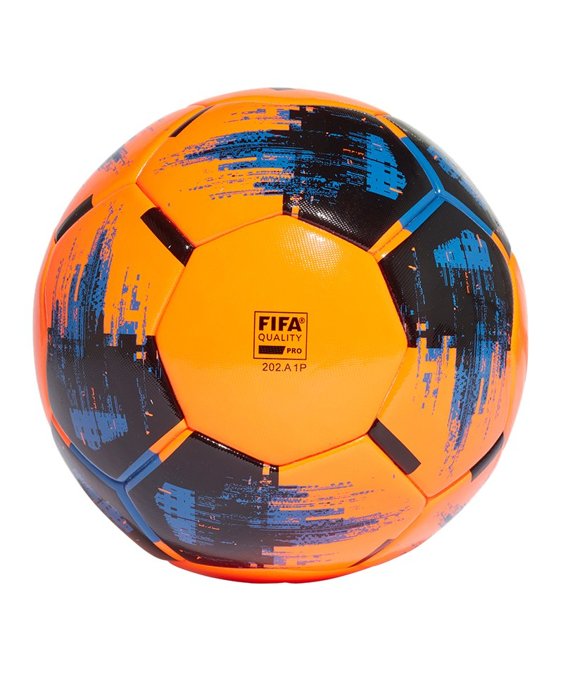 adidas Team Match Winter Spielball Orange - orange