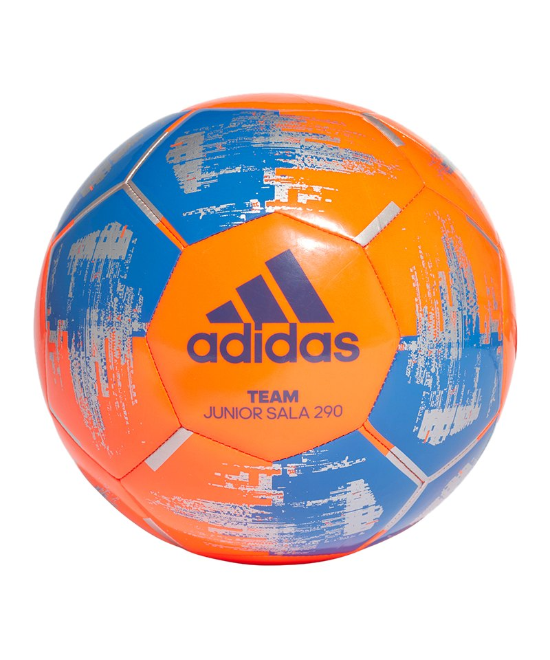 adidas Team 290 Gramm Lightball Orange Blau - orange