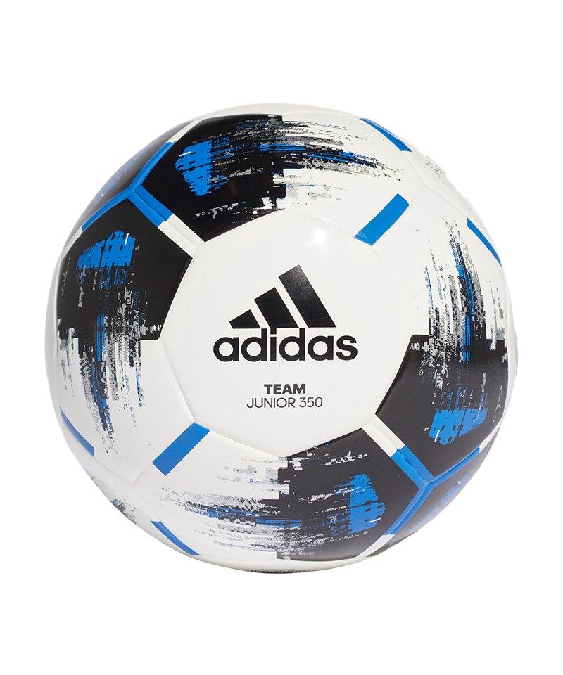 adidas Team Junior 350 Gramm Fußball Weiss - weiss
