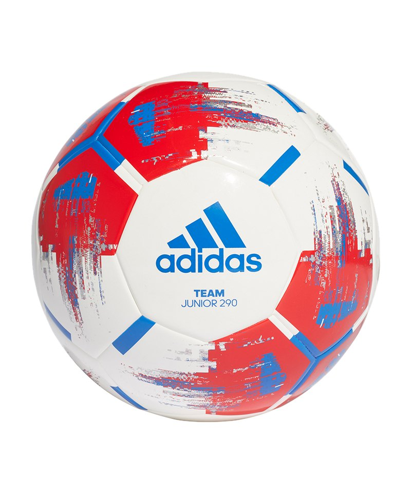 adidas Team Junior 290 Gramm Fußball Weiss - weiss