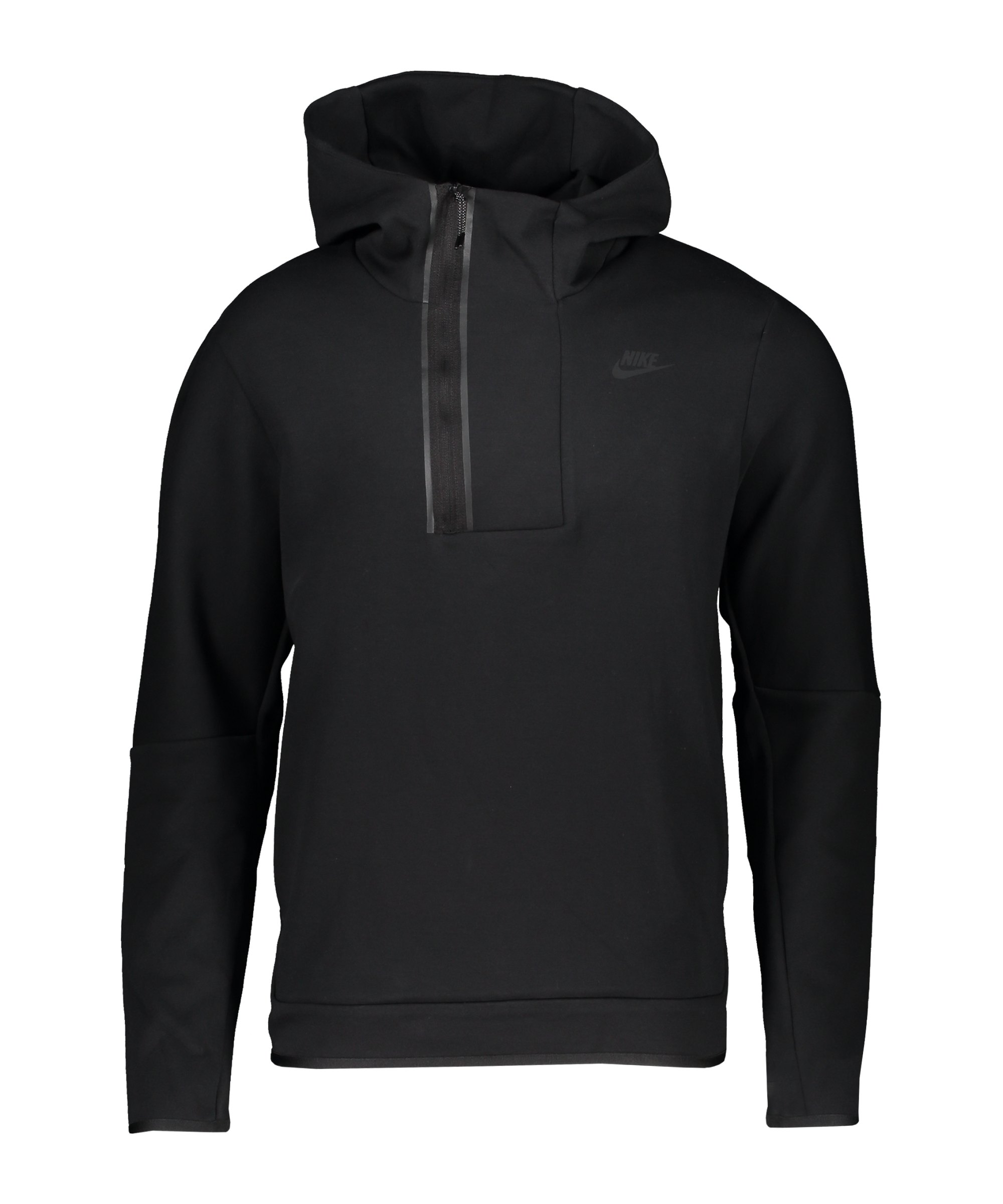 Nike Tech Fleece Crew Sweatshirt Schwarz F010 - schwarz