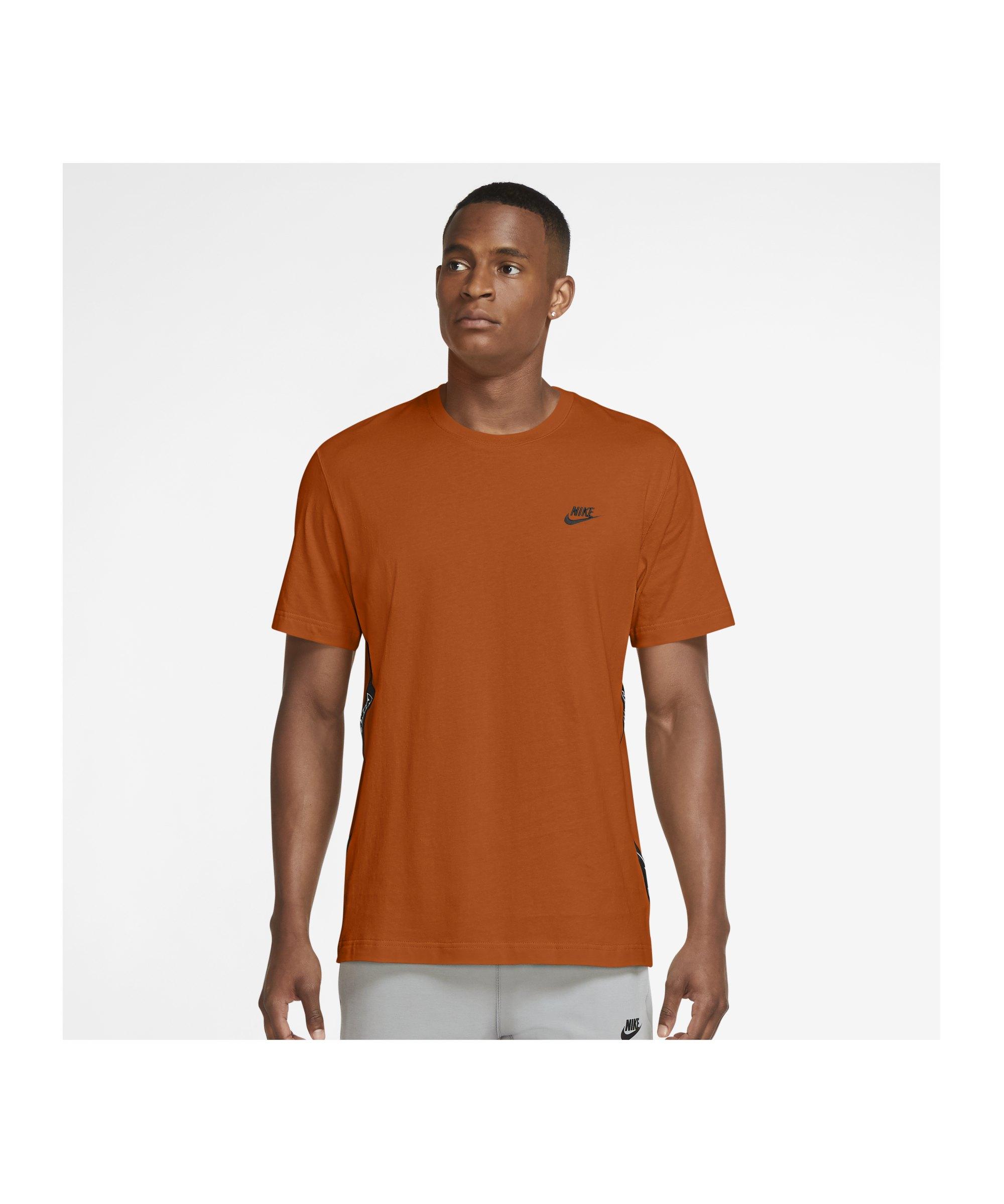 Nike Knit T-Shirt Orange F893 - orange