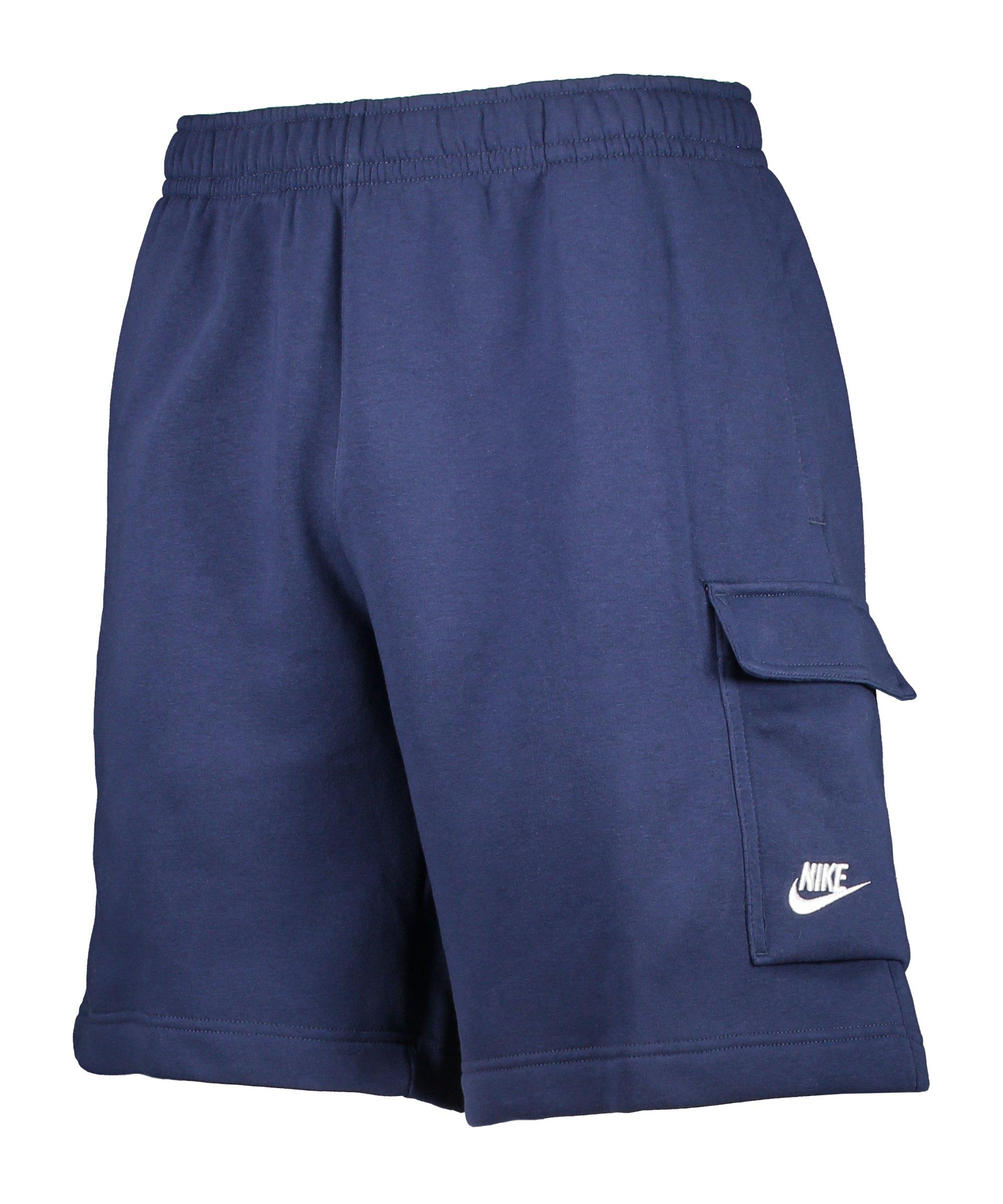Nike Club Cargo Short Blau Weiss F410 - blau