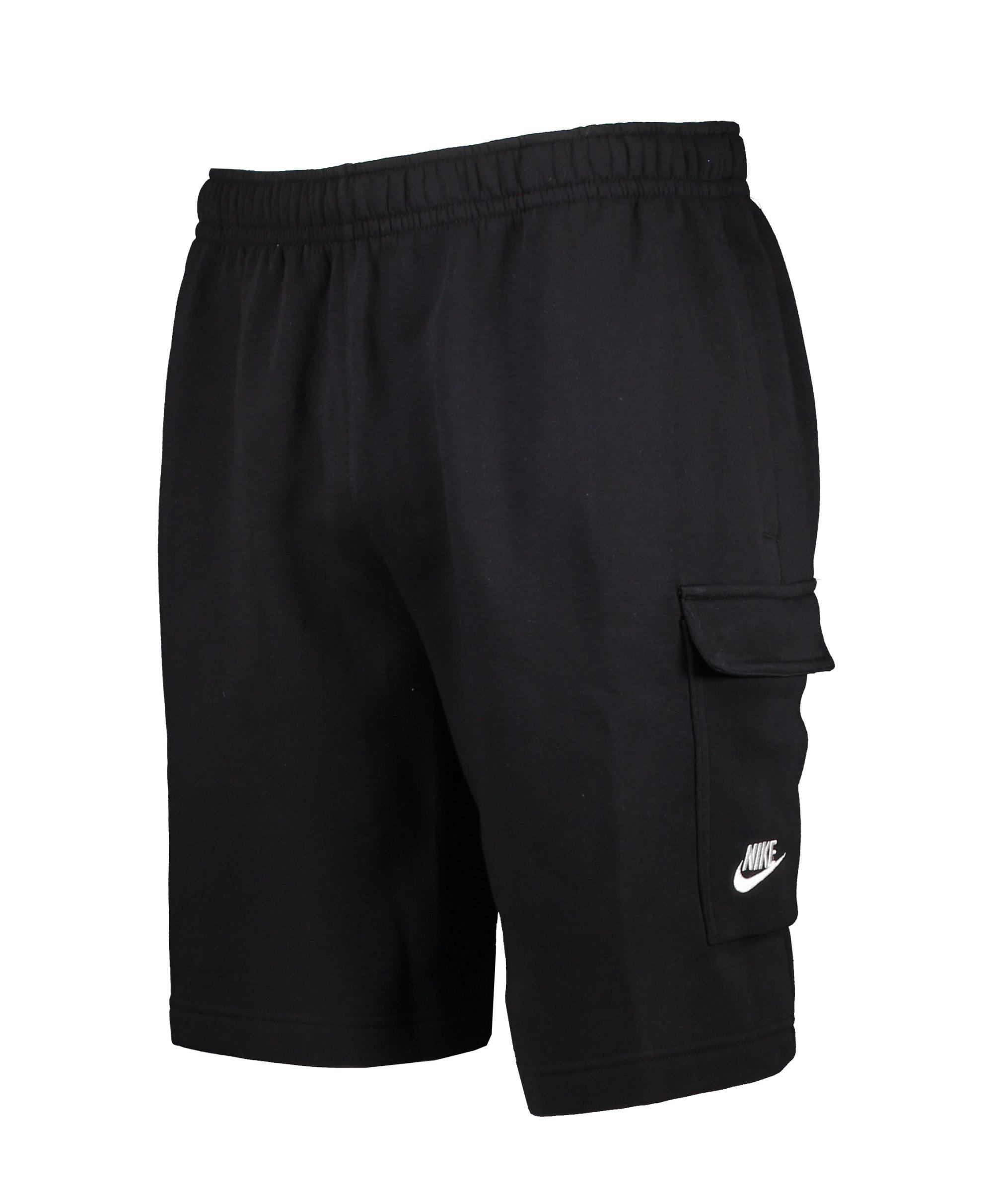 Nike Club Cargo Short Schwarz F010 - schwarz