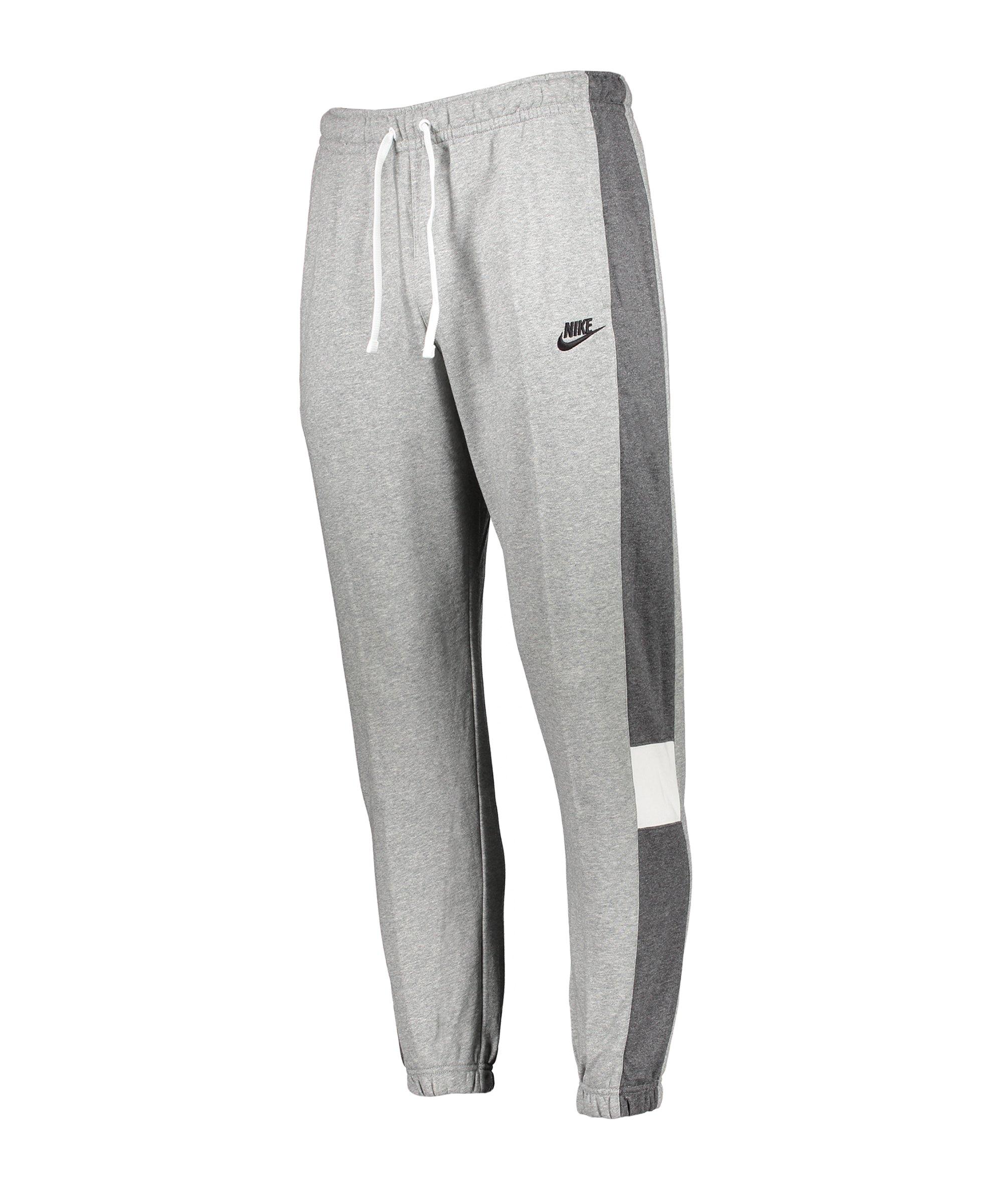 Nike Colorblock Jogginghose Grau F063 - grau