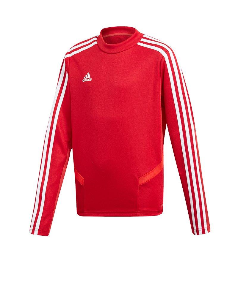 adidas Tiro 19 Trainingstop Kids Rot Weiss - rot